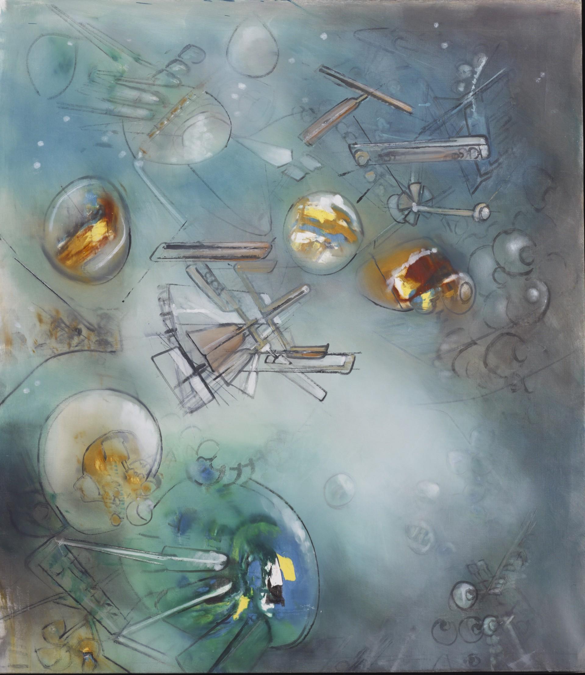 Espacio de l'Especie by Roberto Matta (1911 - 2002)