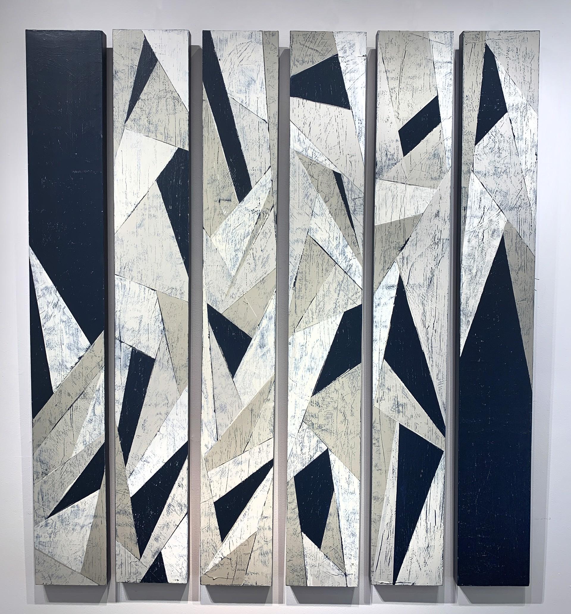 Faccetta IV (Navy/Tan) (6 Panel) by Ann Griffith