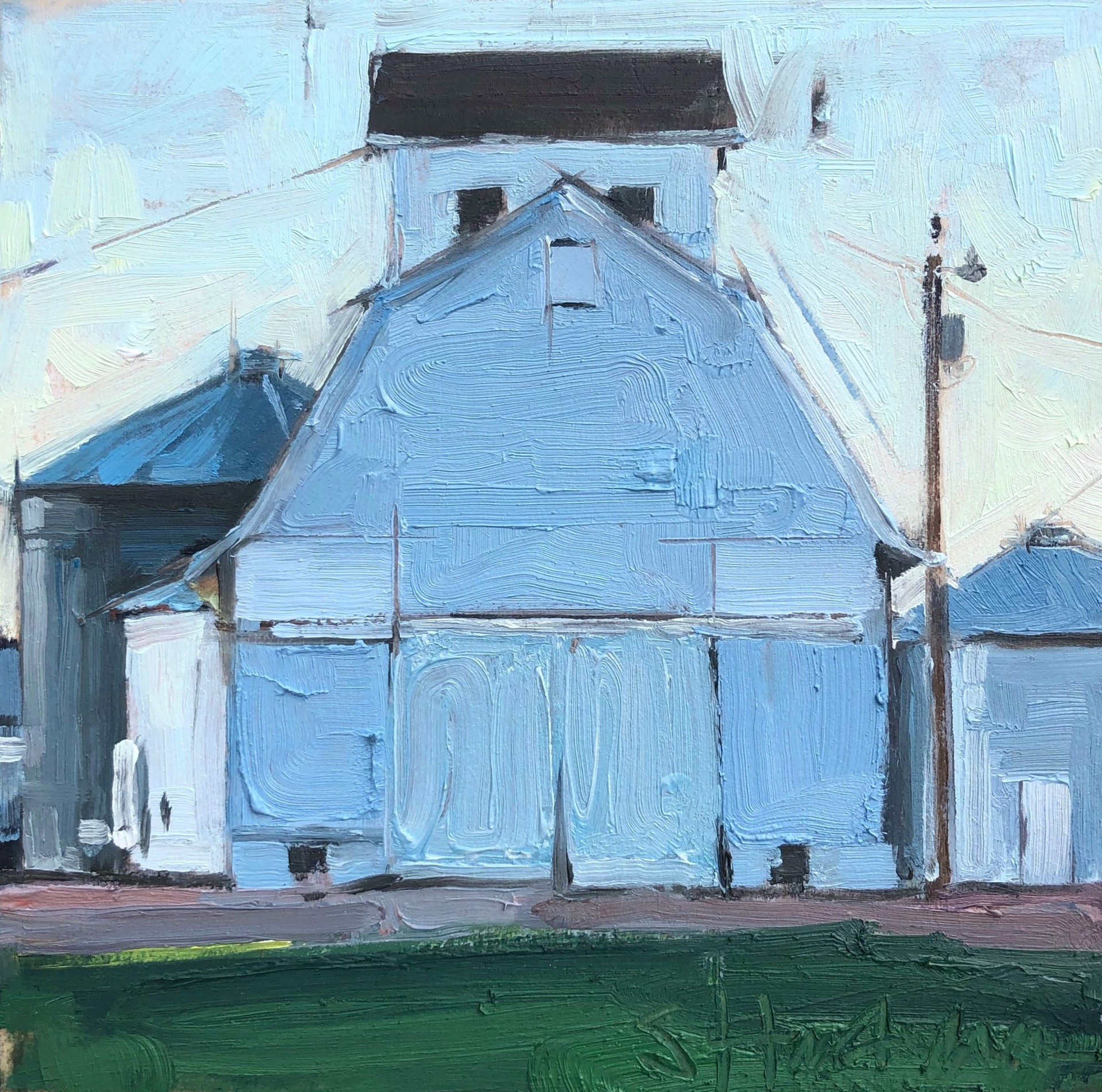 Barn Dusk by Stephanie Hartshorn
