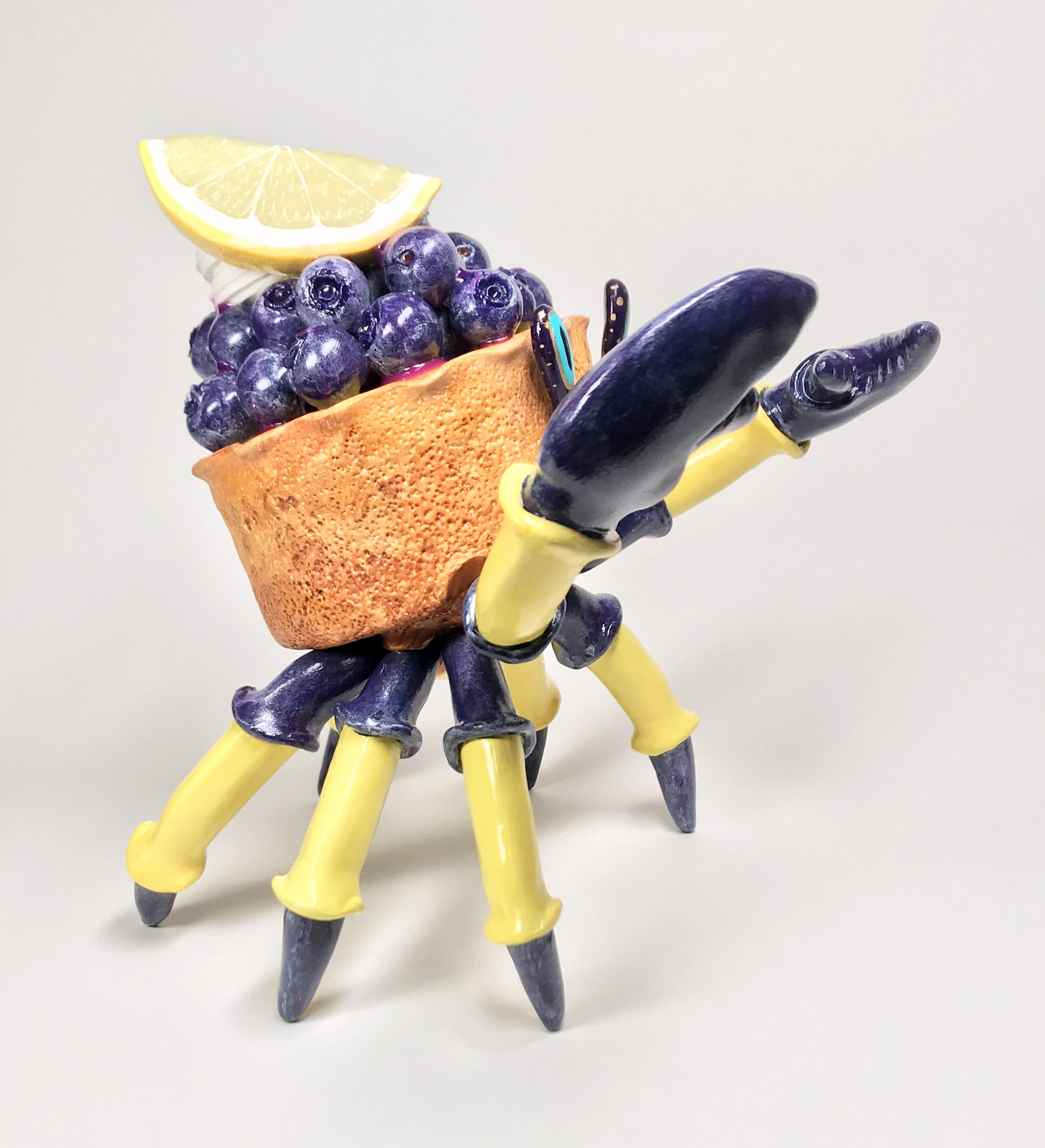 Blueberry Lemon Tart Flavored Crabcake by Corina St. Martin