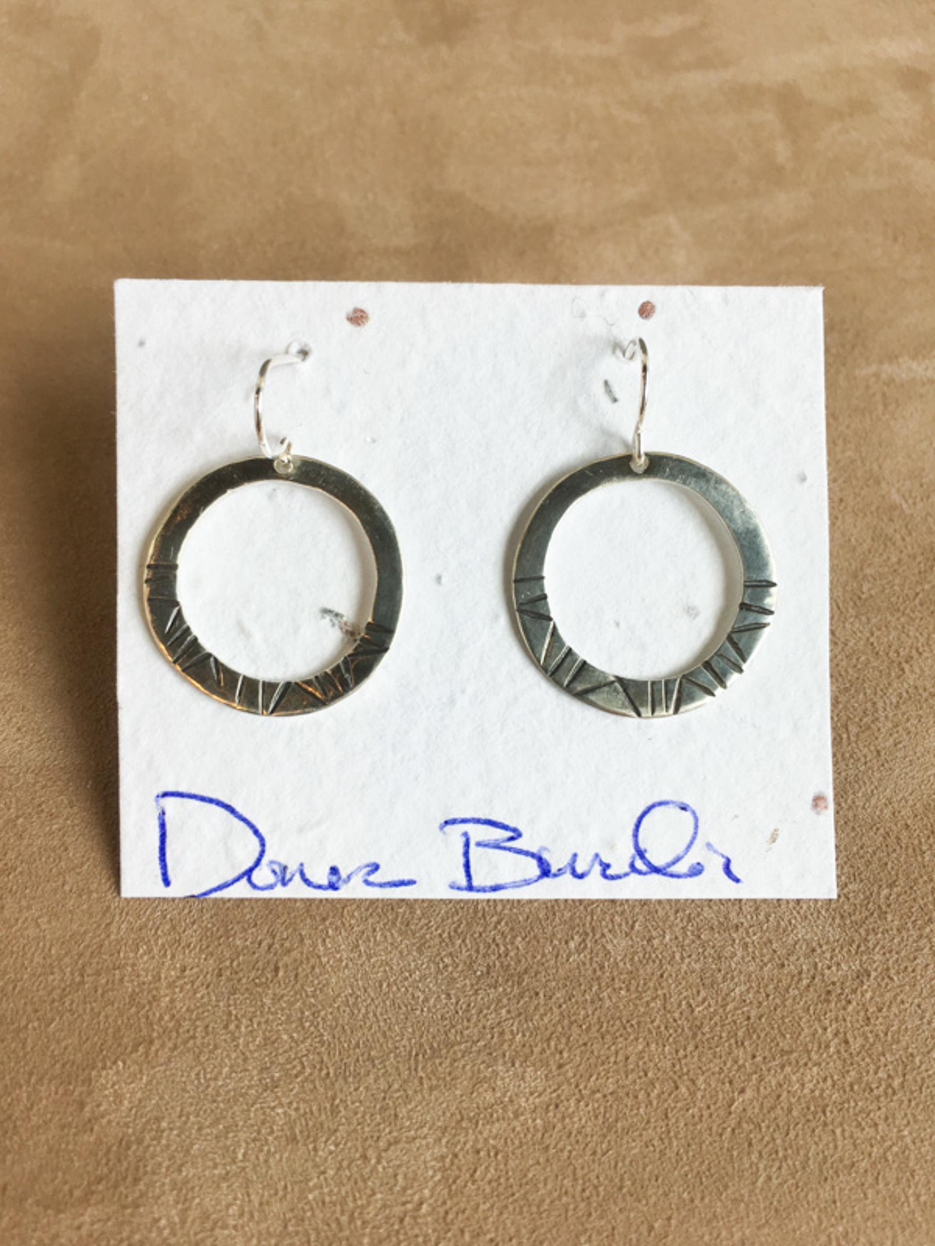 1386-1 Earrings by Donna Burdic