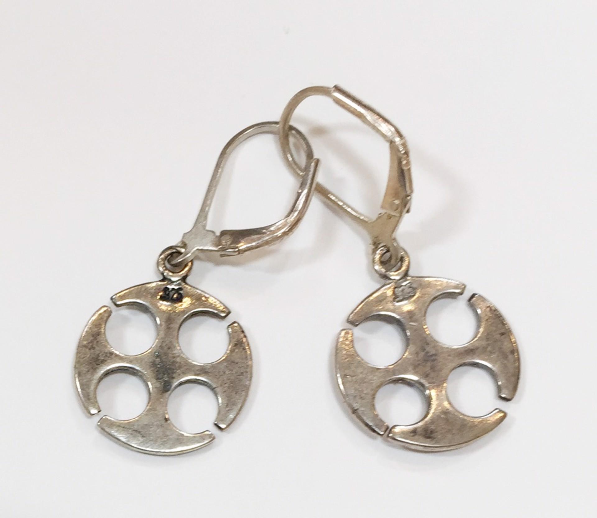 Earrings - Whithorn Cross - 5650 by Deanne McKeown