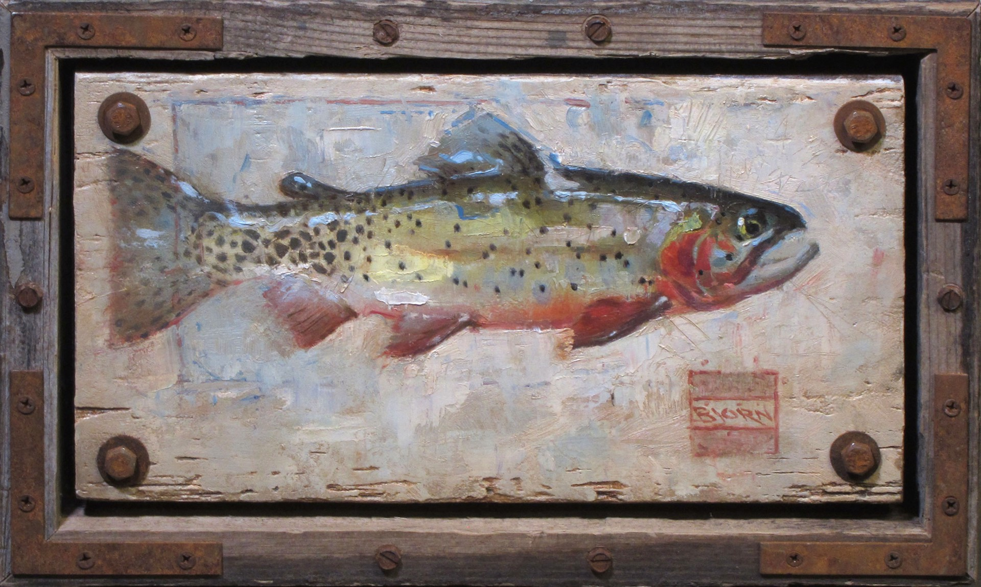 Cutthroat Trout #2 by Bjorn Thorkelson
