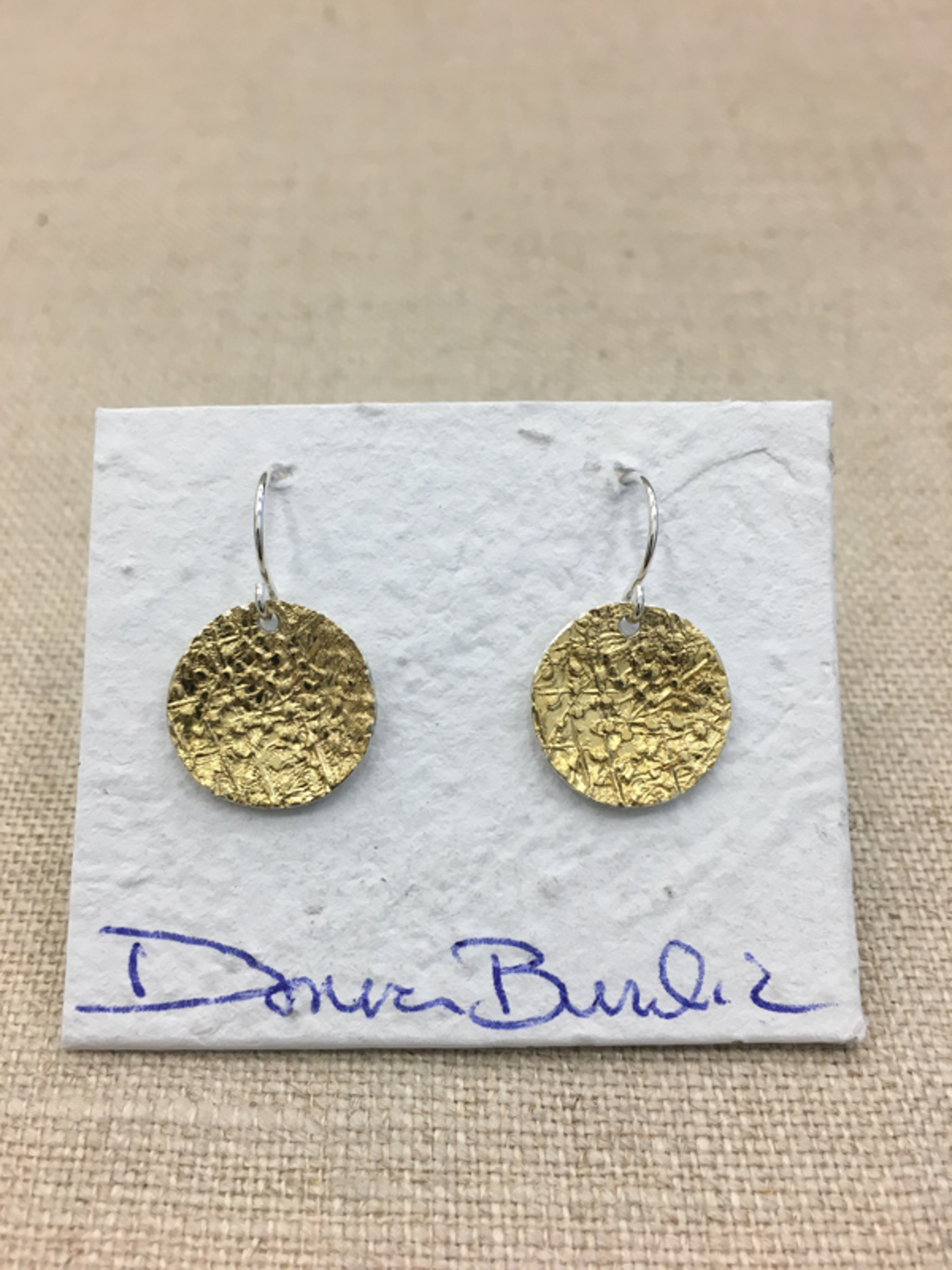 1457-1 Earrings by Donna Burdic