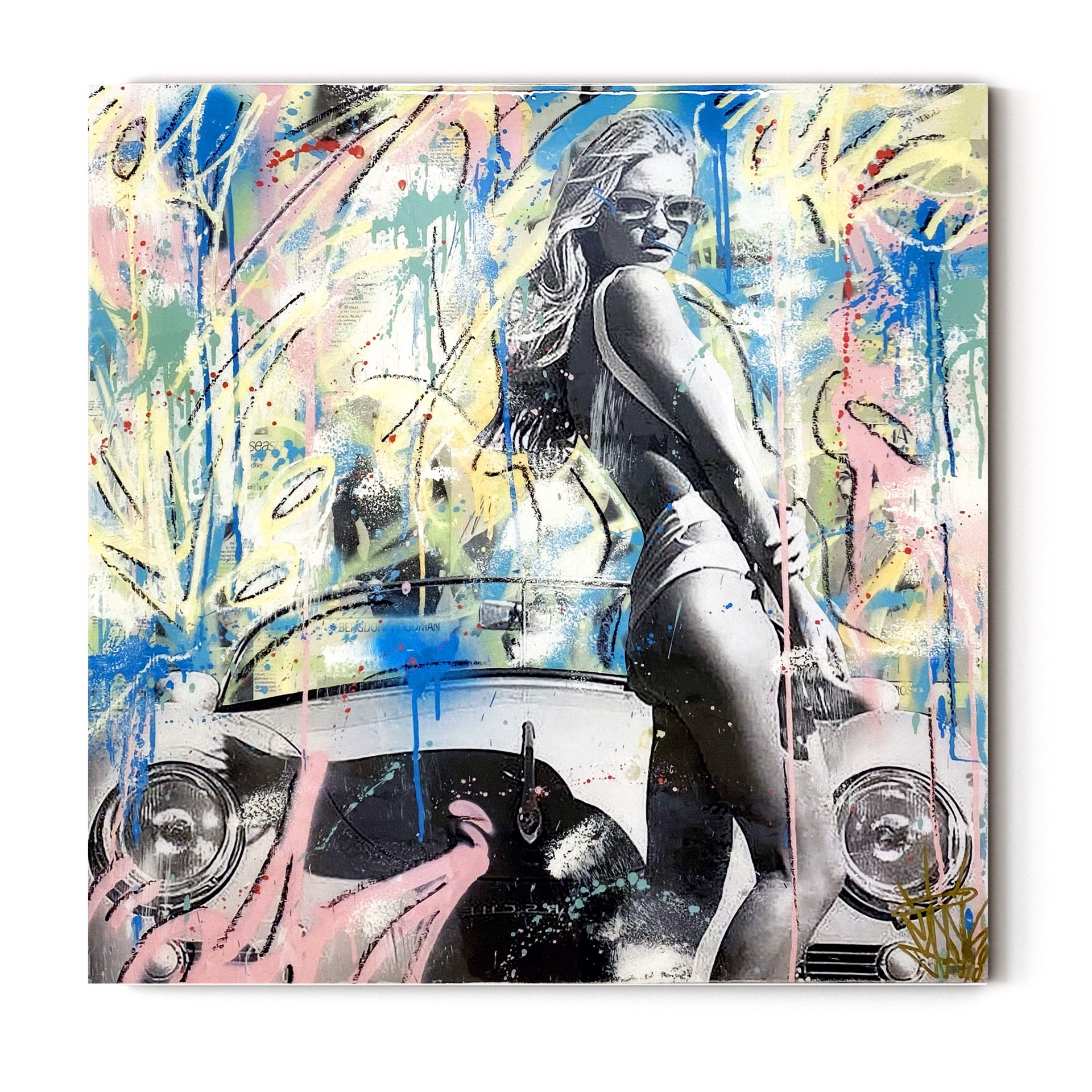 Porsche Girl by Seek One