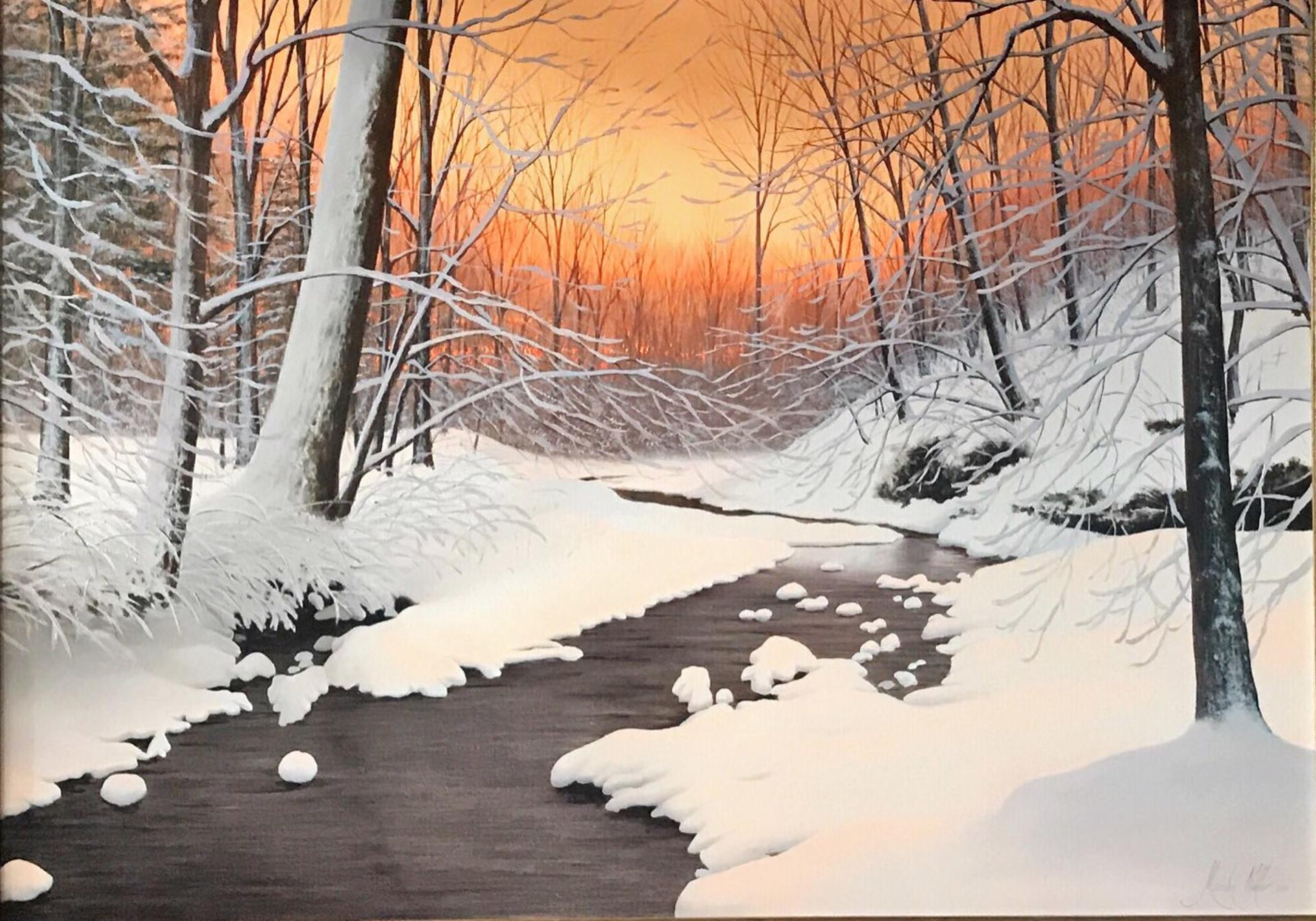 Original Winter by Alexander Volkov
