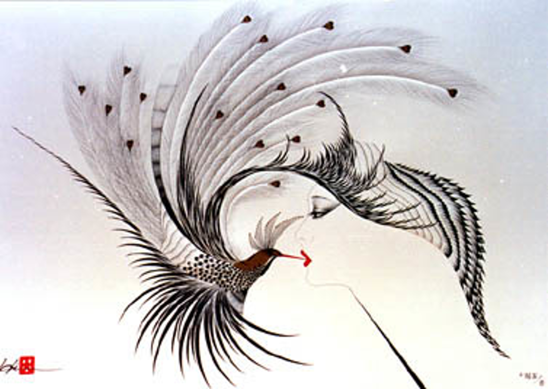The Kiss by Hisashi Otsuka