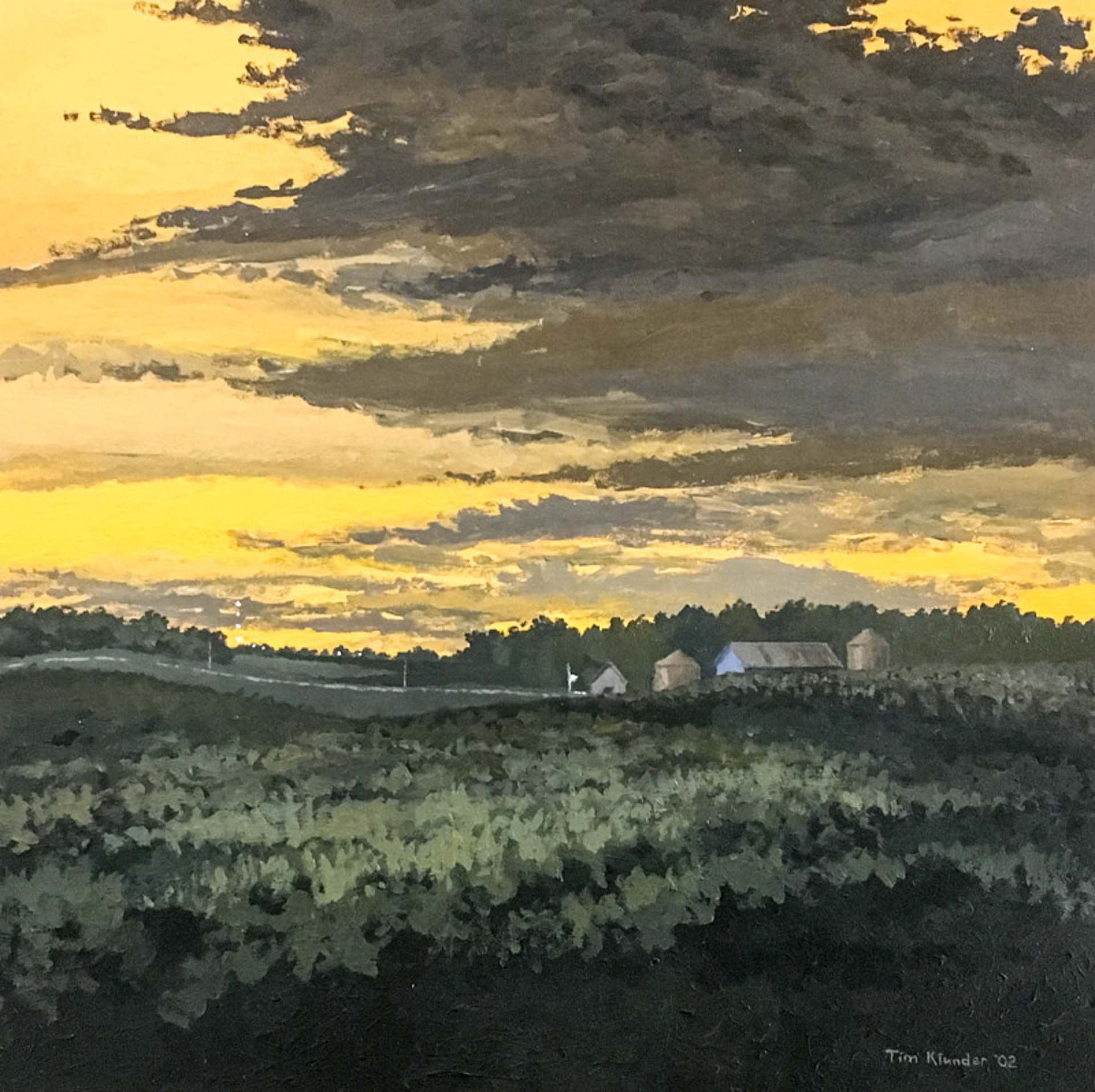 Nebraska Dusk No. 1 by Tim Klunder