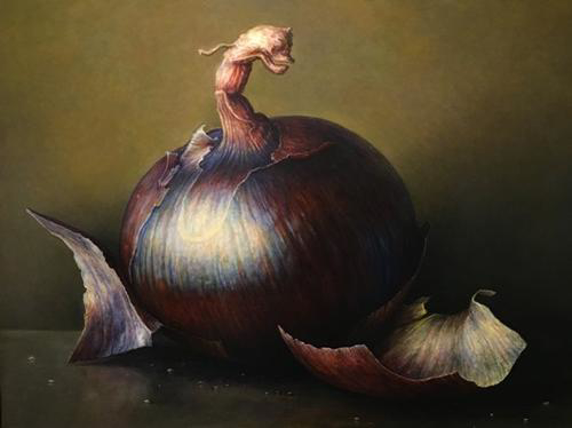 red onion by James DelGrosso