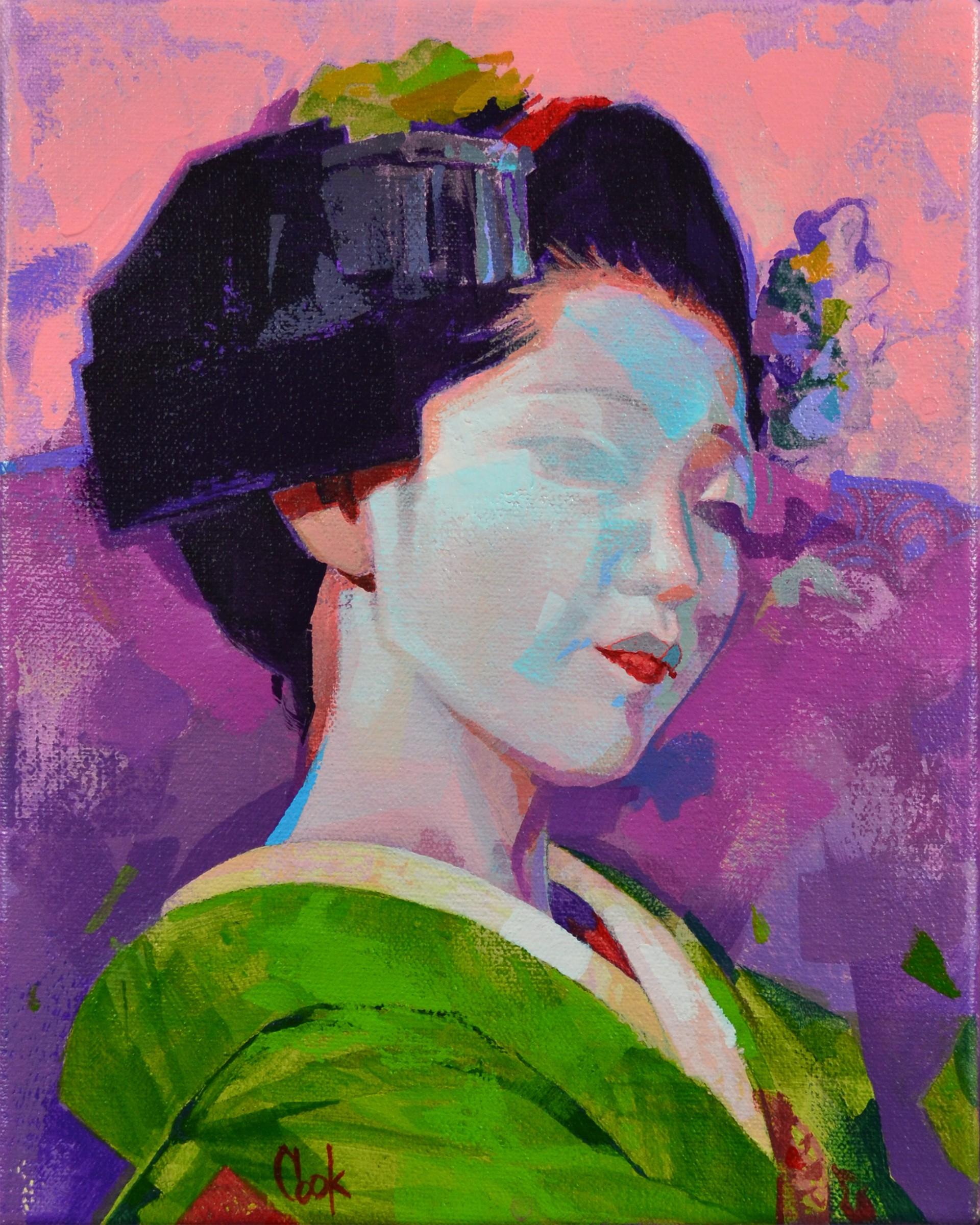 Geisha Study 3 by Bud Cook