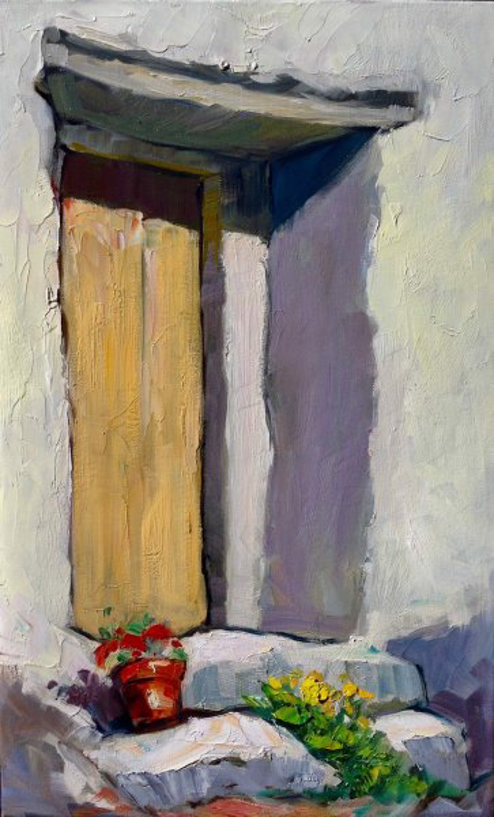 Door In Arenas by Maria Bertrán