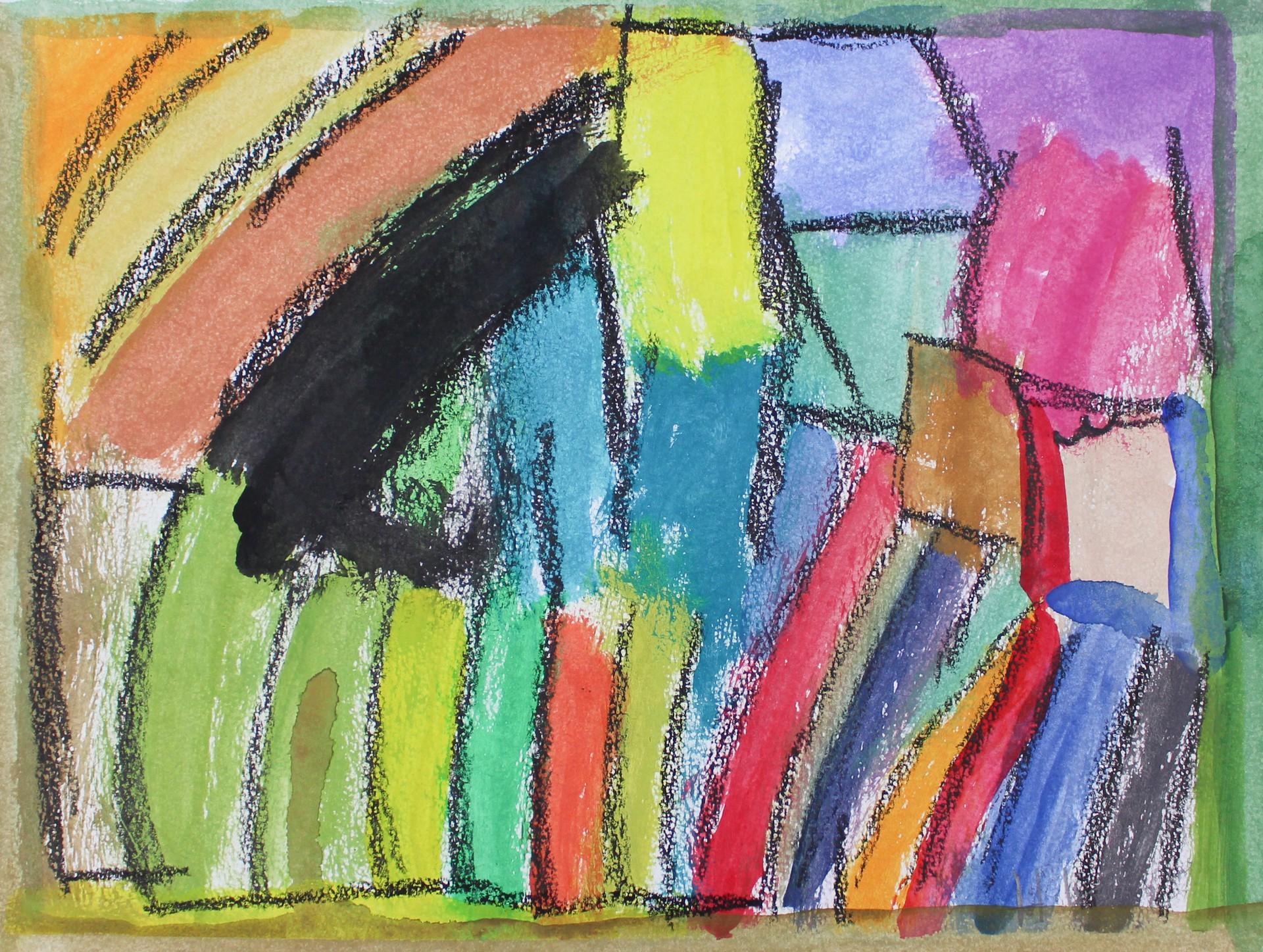 Rainbow Black by Helen Lewis