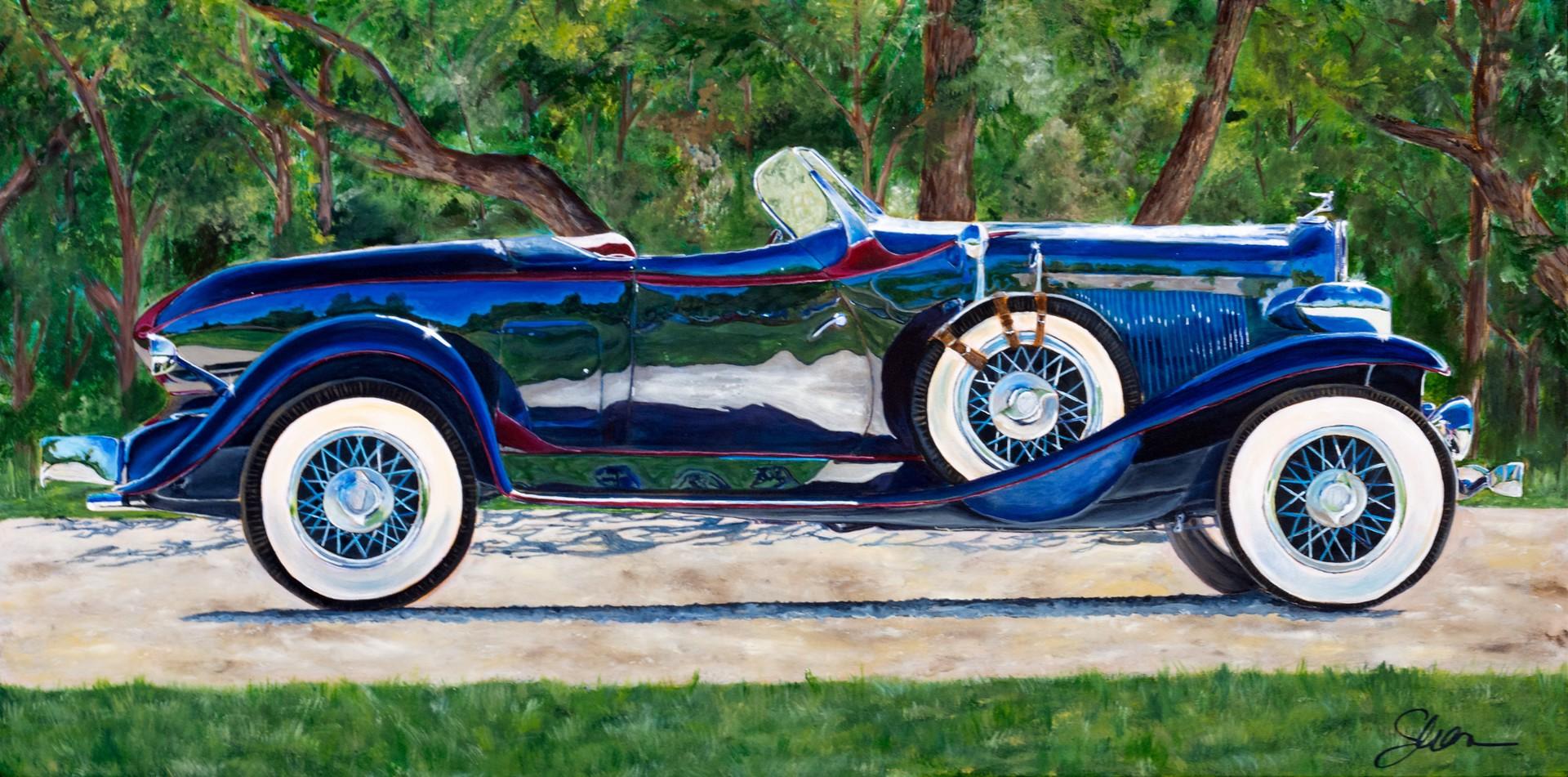 1932 Auburn Speedster by Shan Fannin