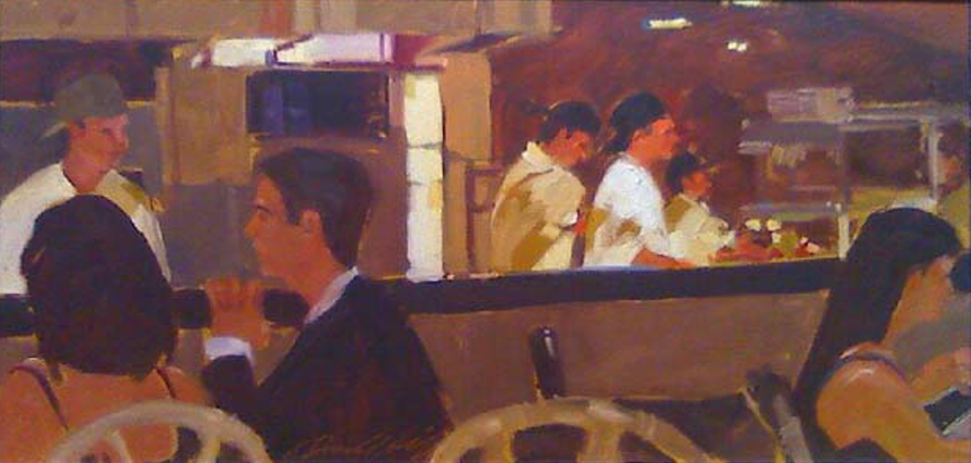 Dining Out by Darrell Hill