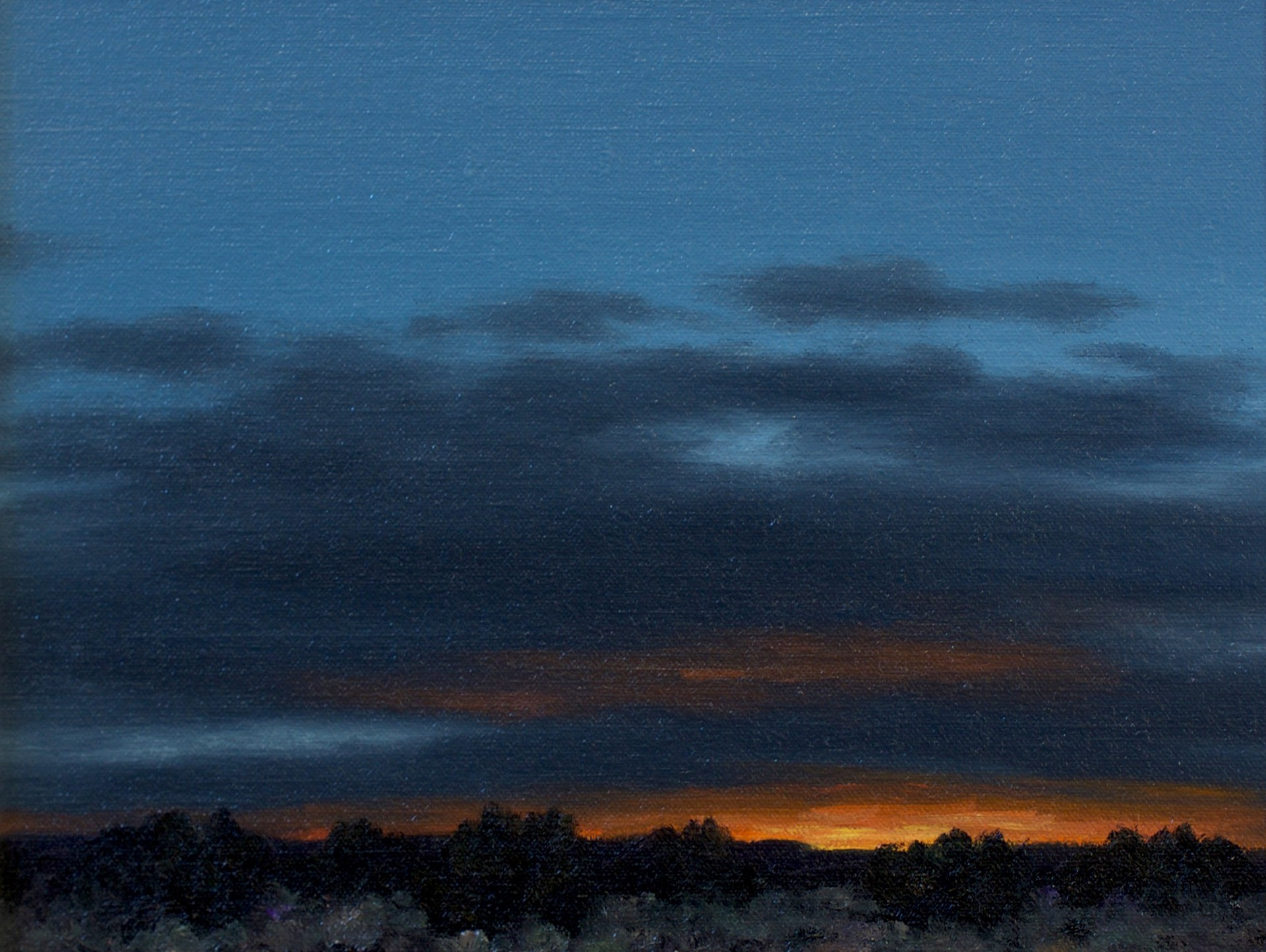 October Sunset by Stephen Day