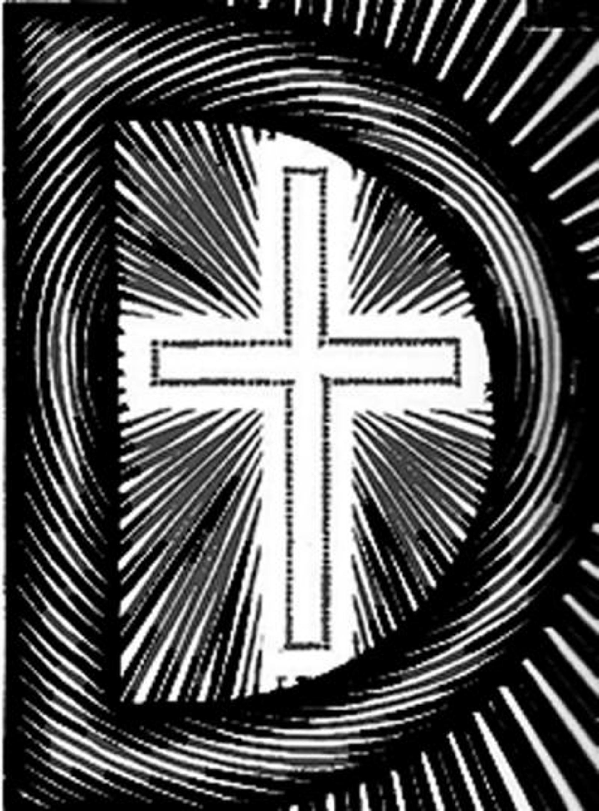 Scholastica - Initial D by M.C. Escher