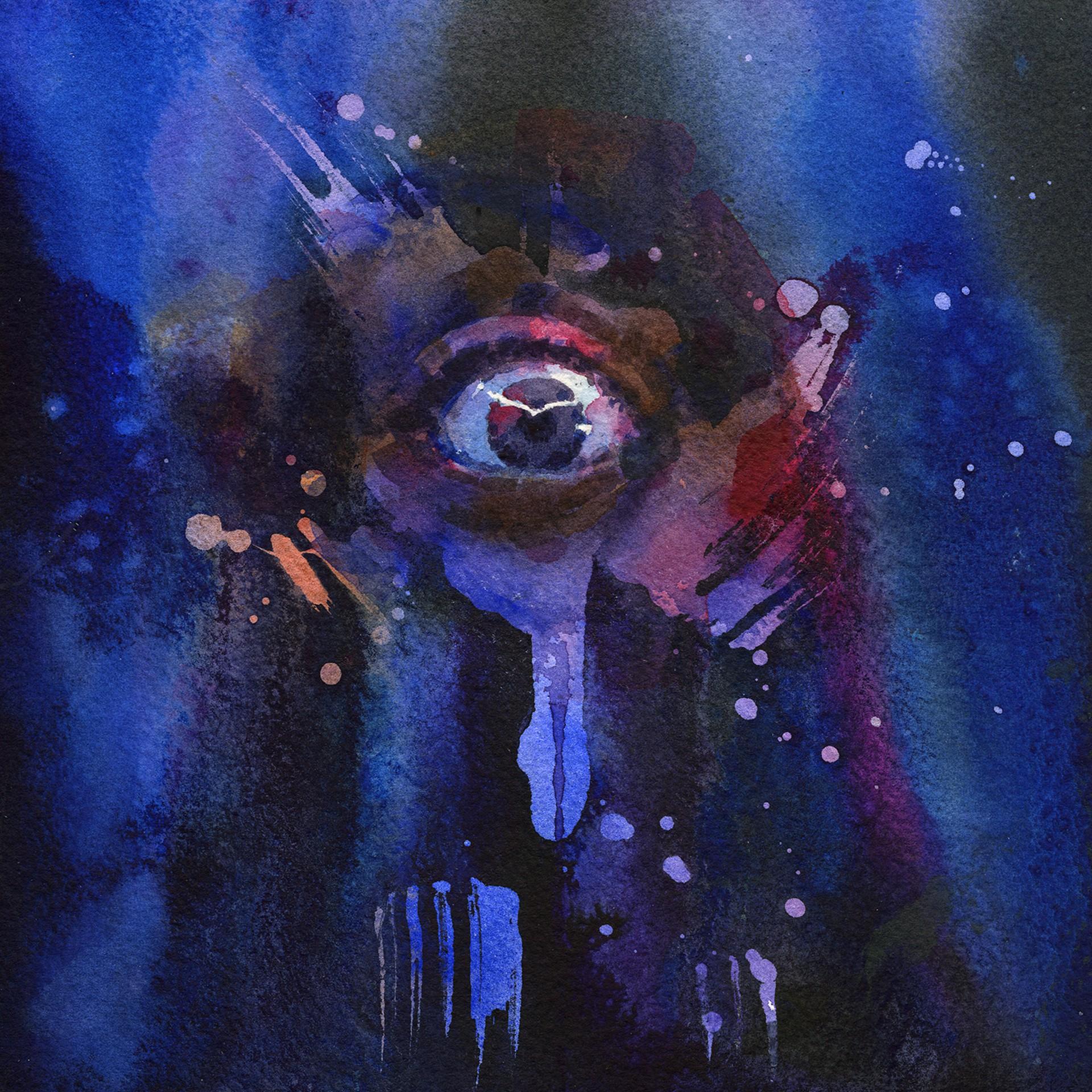 Piercing the Veil - Blue by Joanna Barnum