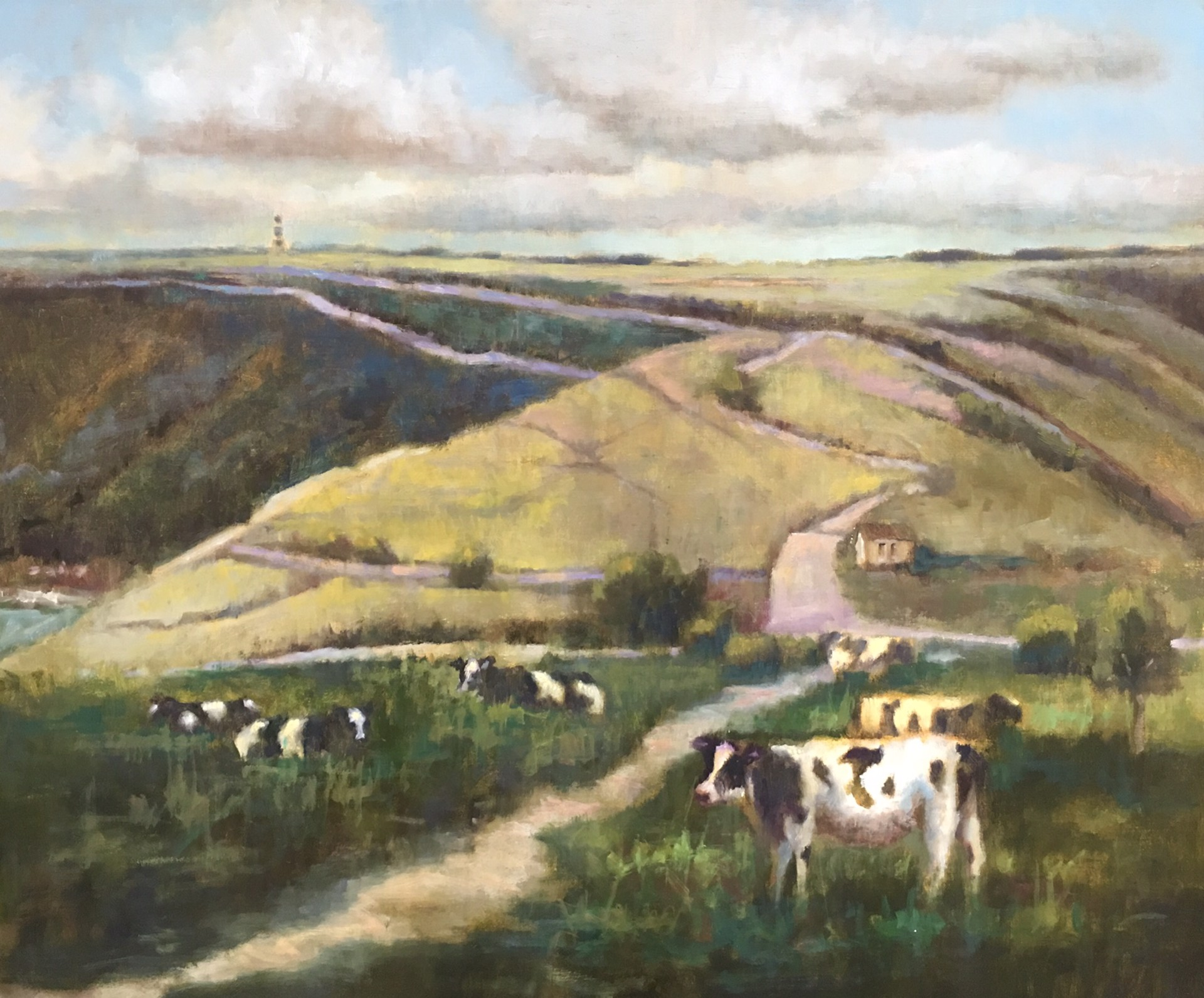 Green Around The Hills by Laurie Meyer