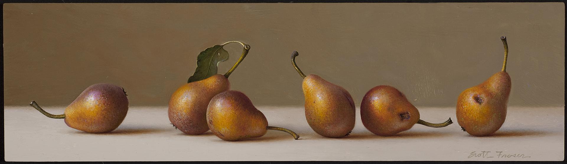 Six Pears by Scott Fraser