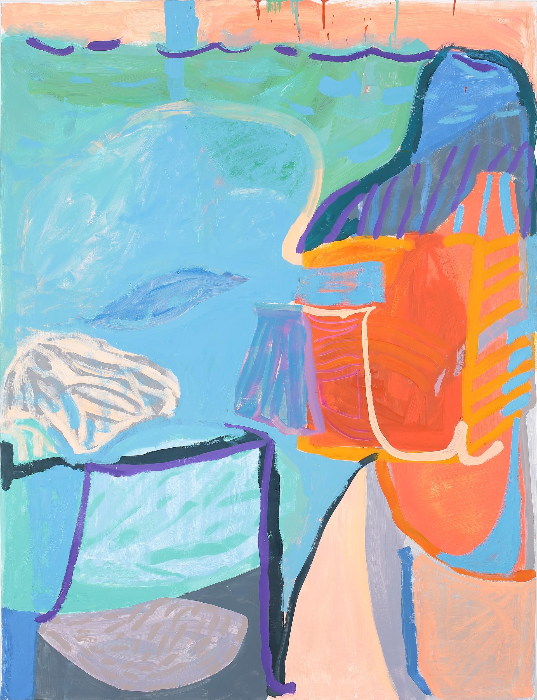 Into the Pool by Lori Glavin