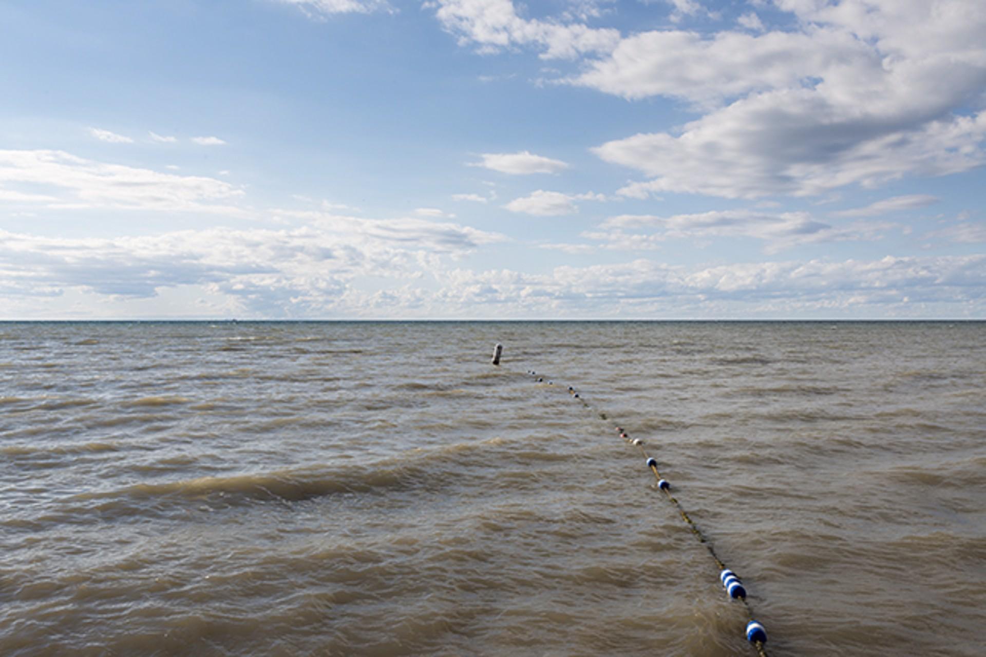 Lake Ontario Beach II by Frank Sherwood White
