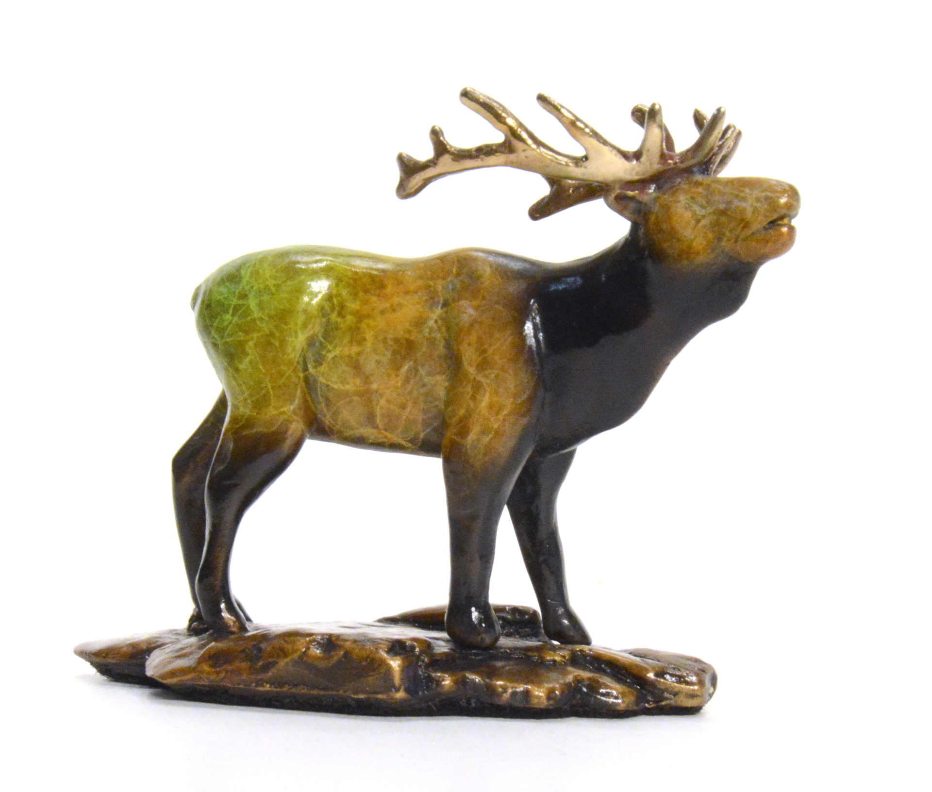 Where My Girls At? (Bull Elk) by Eric Wilcox
