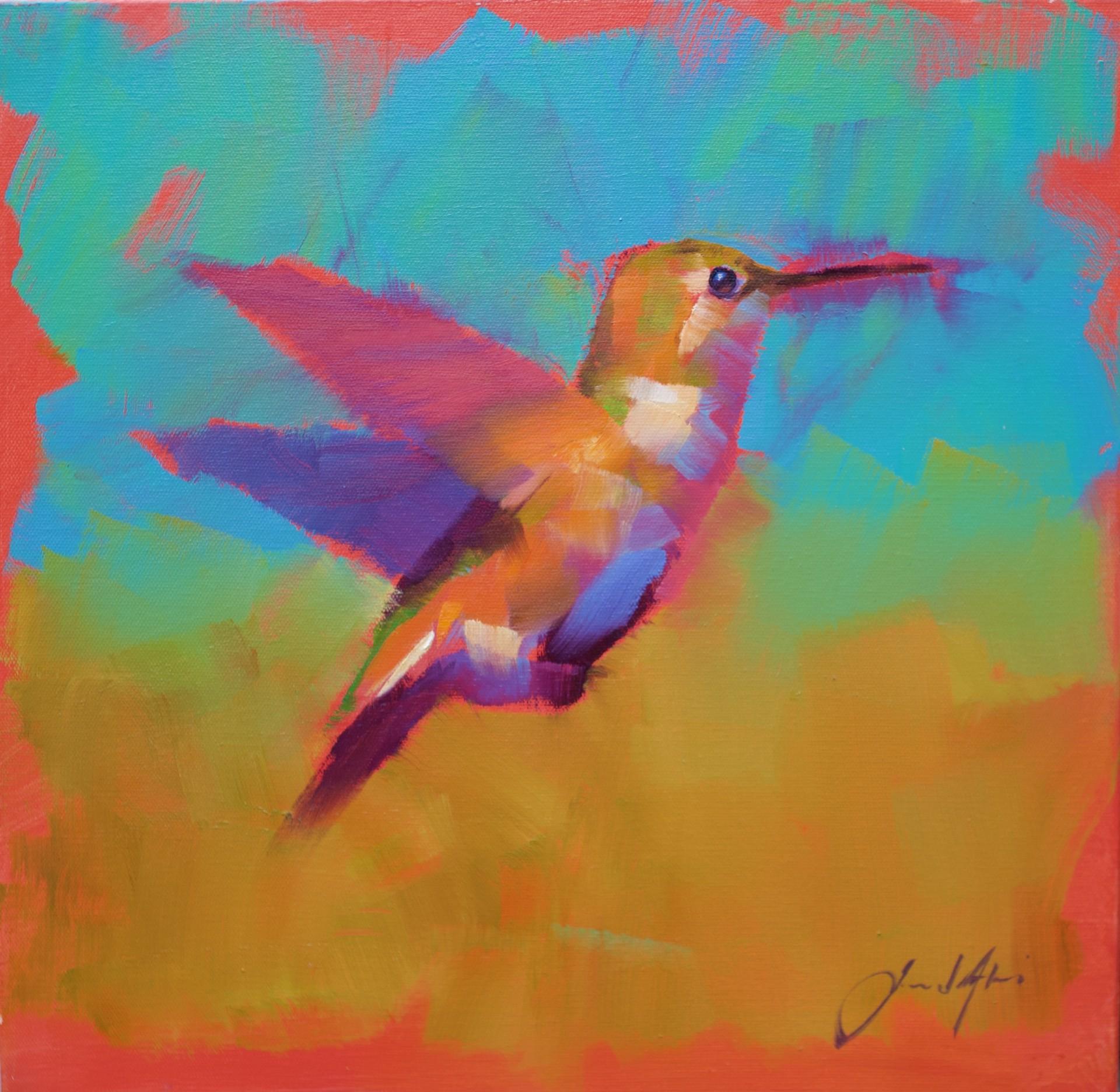 Hummingbird XI by Jamel Akib