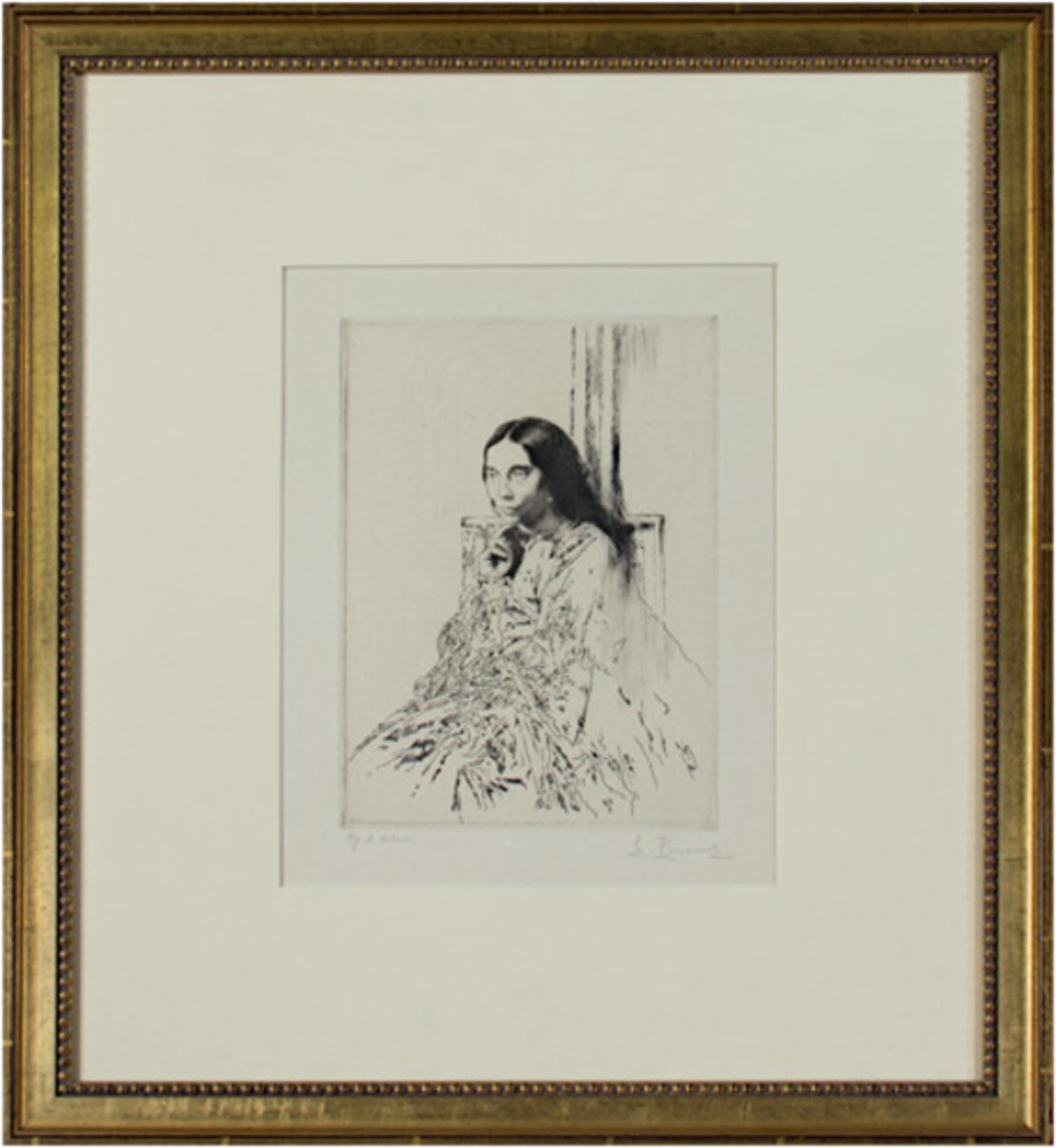 La Mere de Whistler by Auguste Brouet