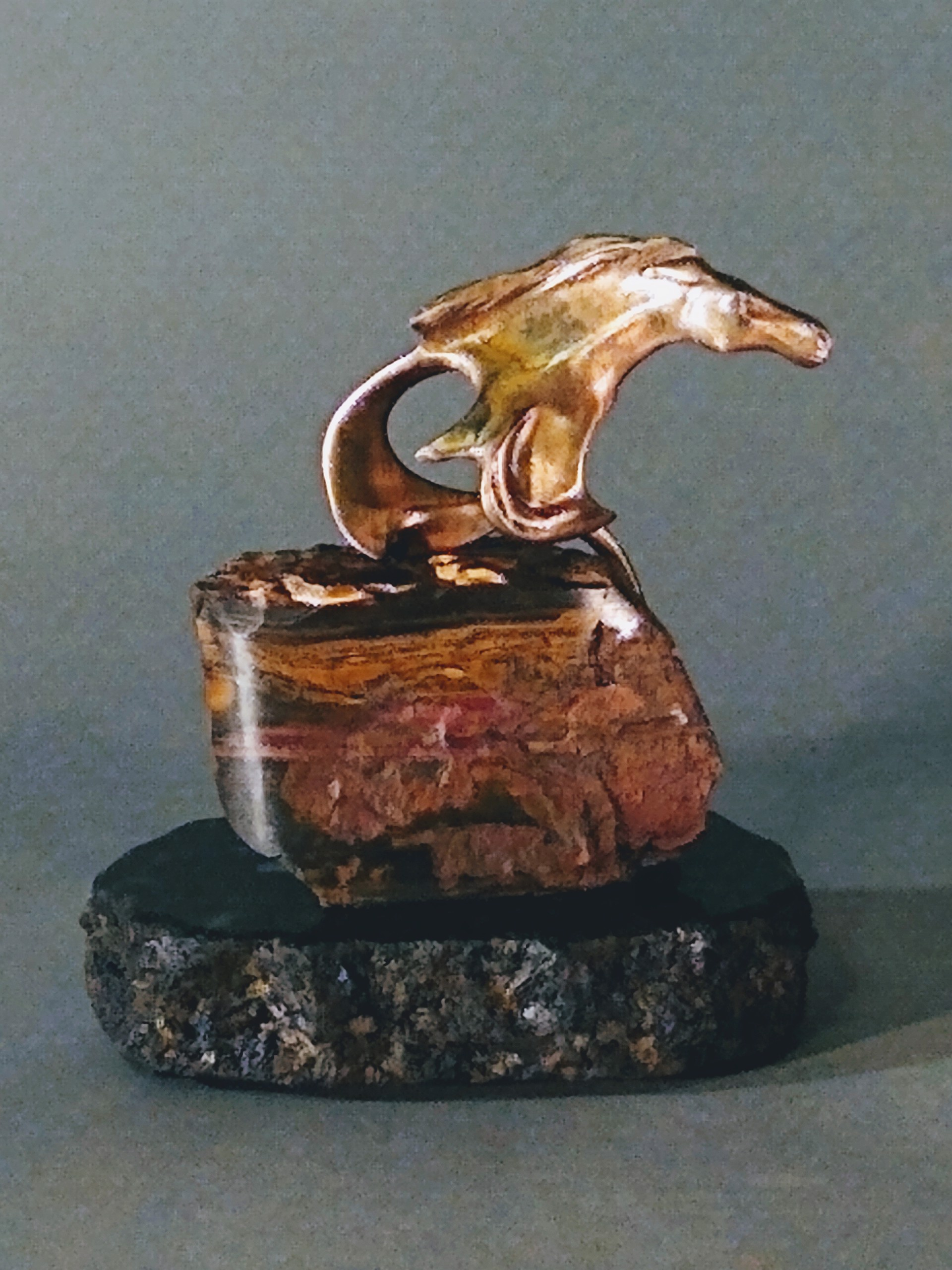 Above the Thunder Collectible (One of a Kind) by J. Christopher White