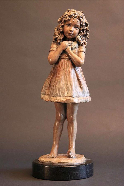 There Was a Little Girl......... by Angela De la Vega
