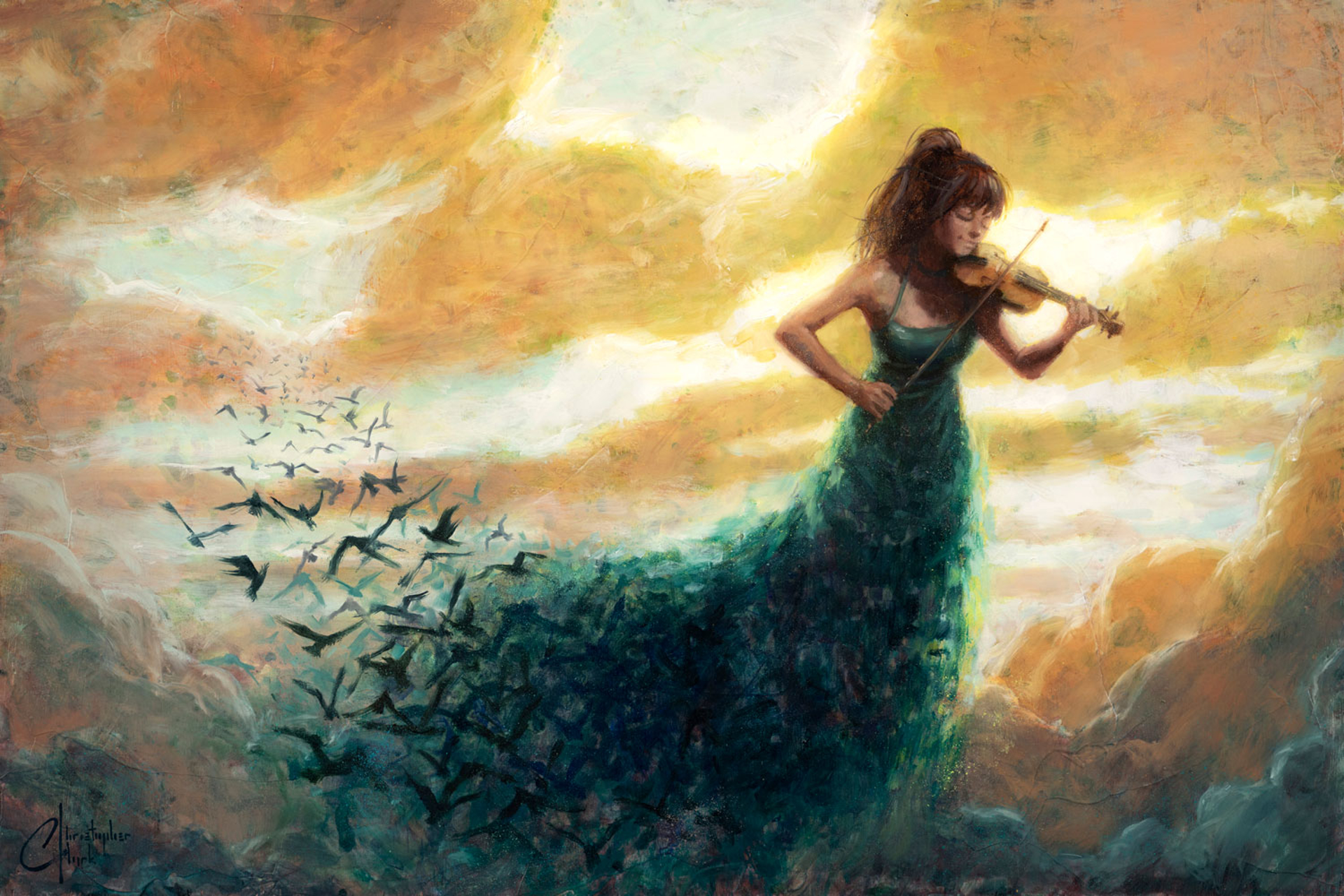 One Final Melody by Christopher Clark