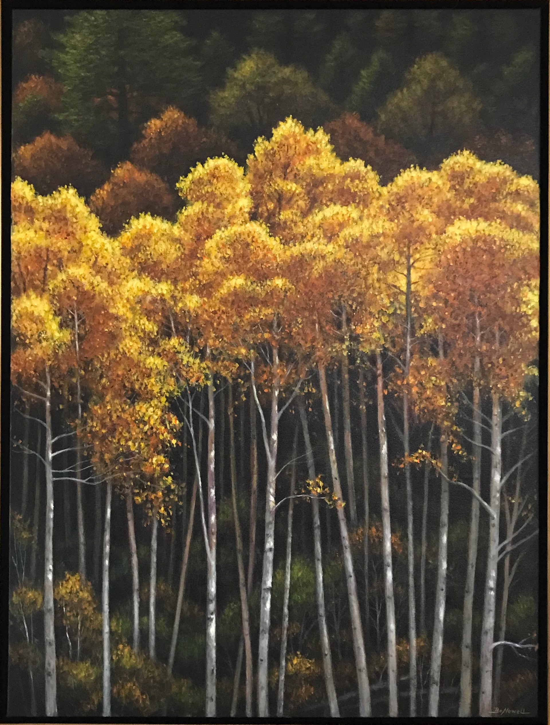 Aspen Dusk by Bo Newell