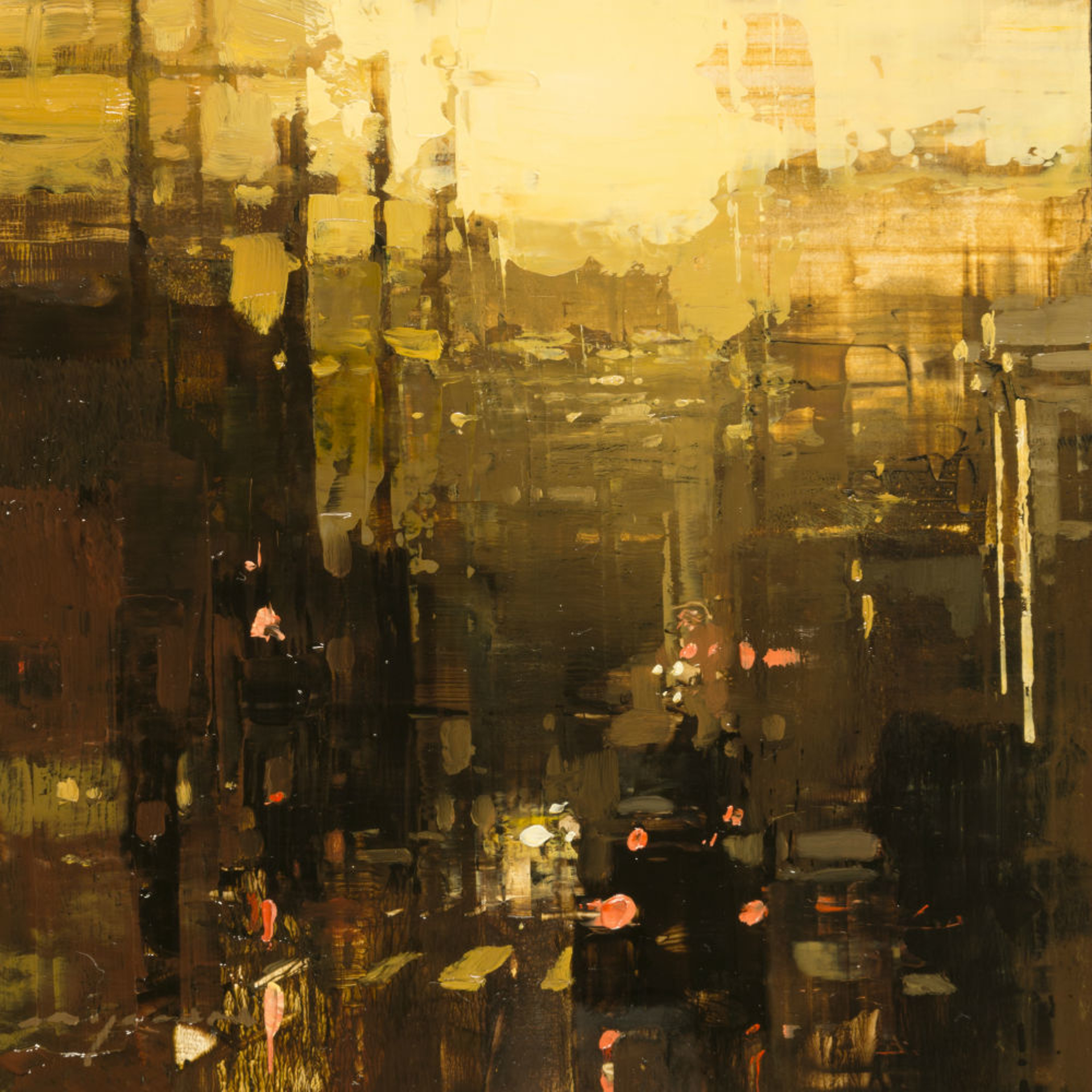 Cityscape  - Composed Form Study no. 26 by Jeremy Mann