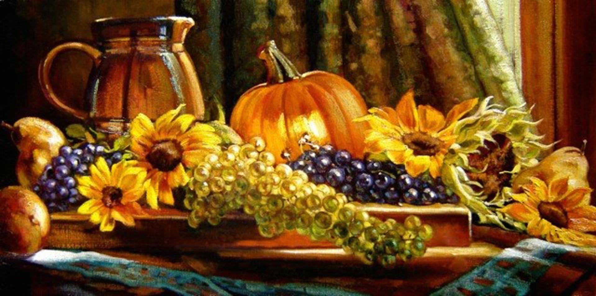 Harvest Of Color by Caroline Zimmermann