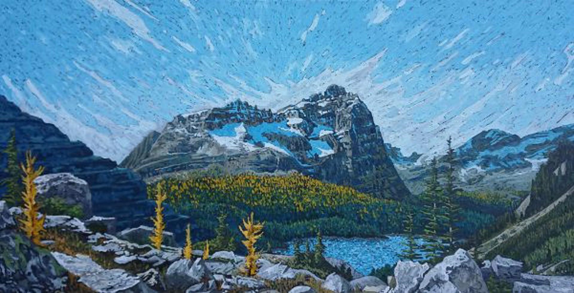 Mountain Glory by JOEL MARA