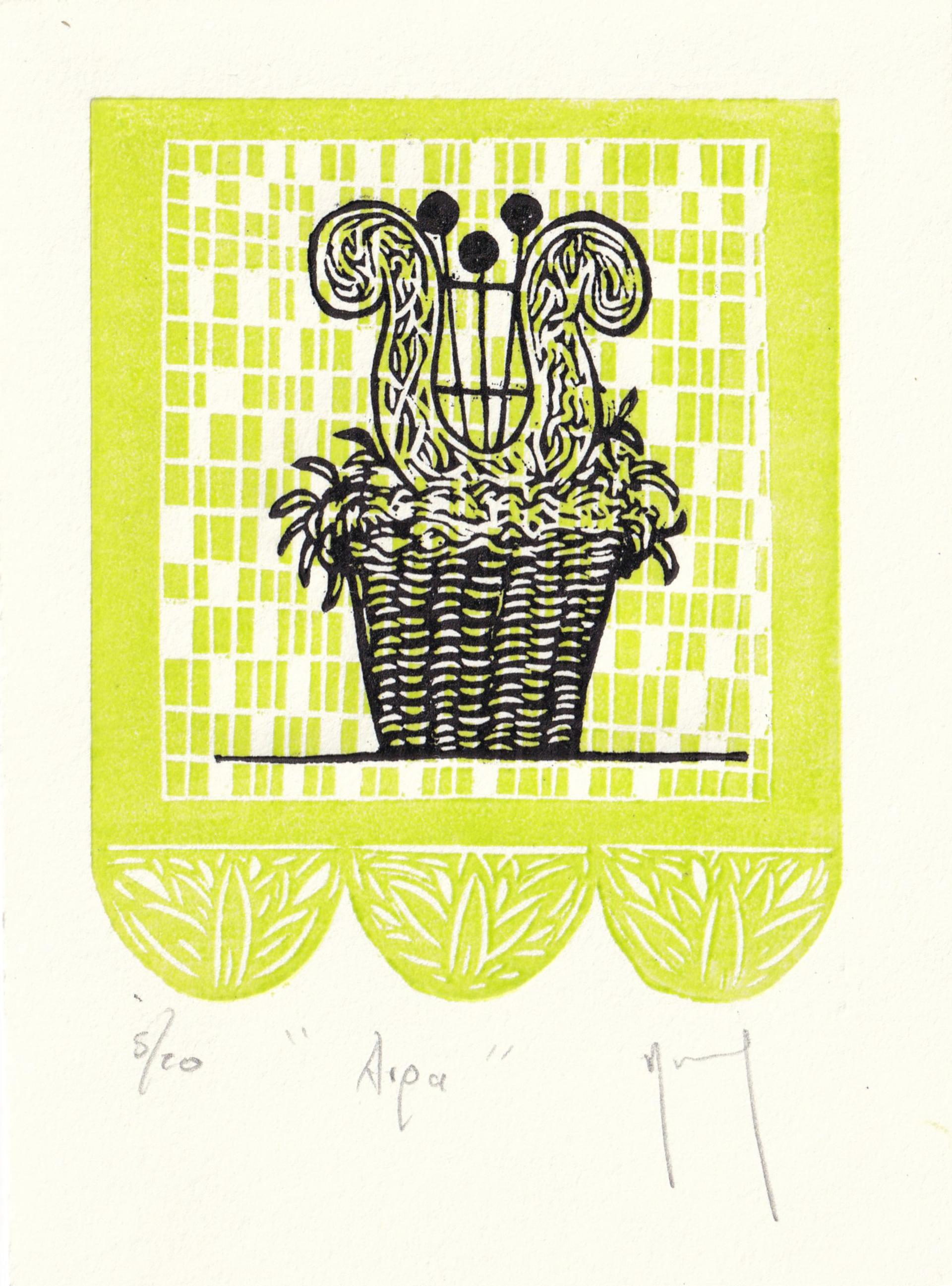 Serie Oaxaca (Arpa) by Miguel Jimenez Martinez