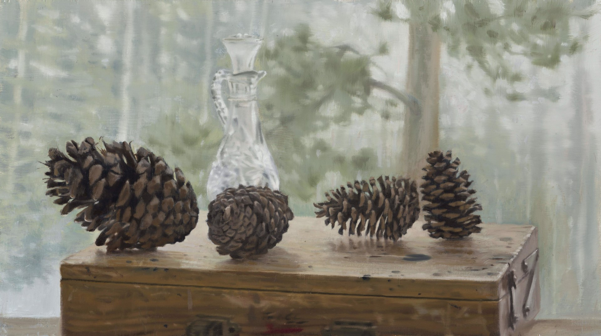 Pine Cones by Gregory Block