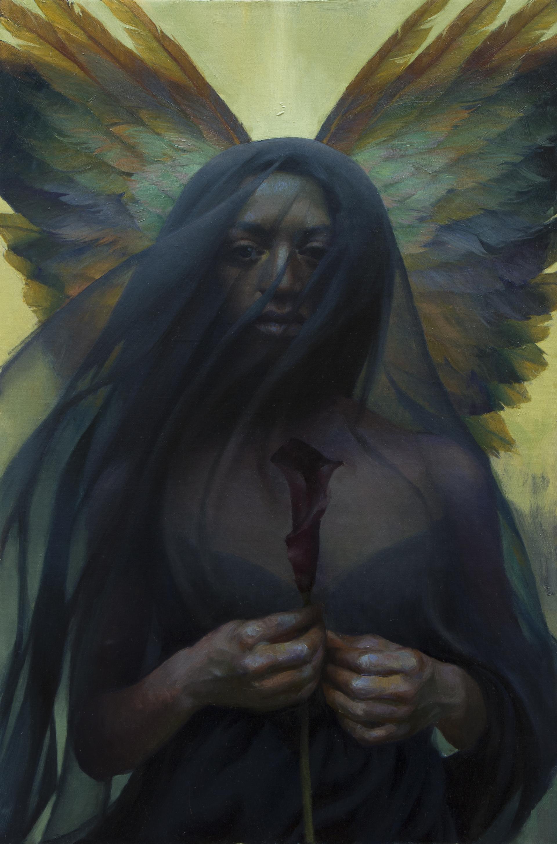Mourning Angel by Adrienne Stein