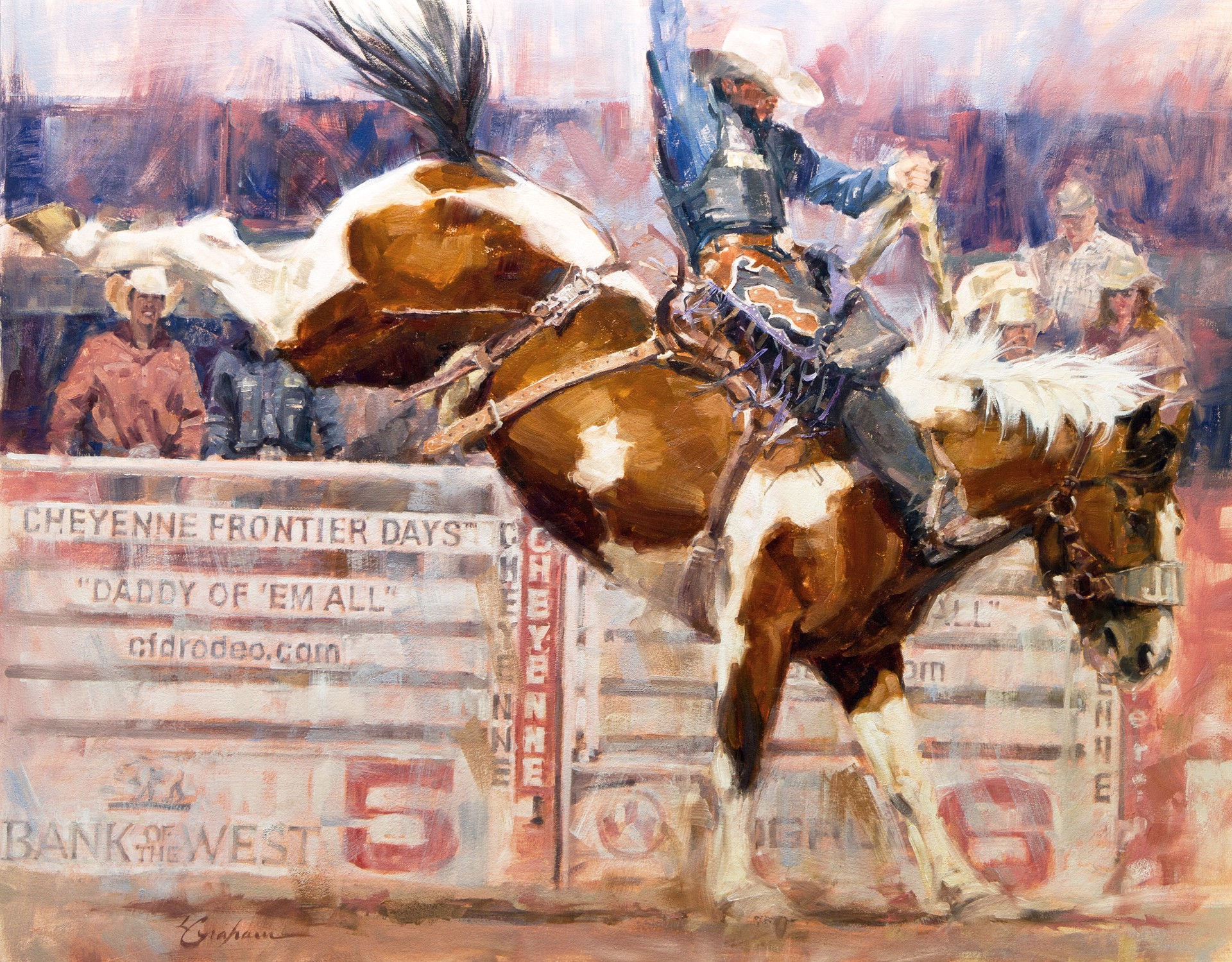 High Kickin' Paint by Lindsey Bittner Graham