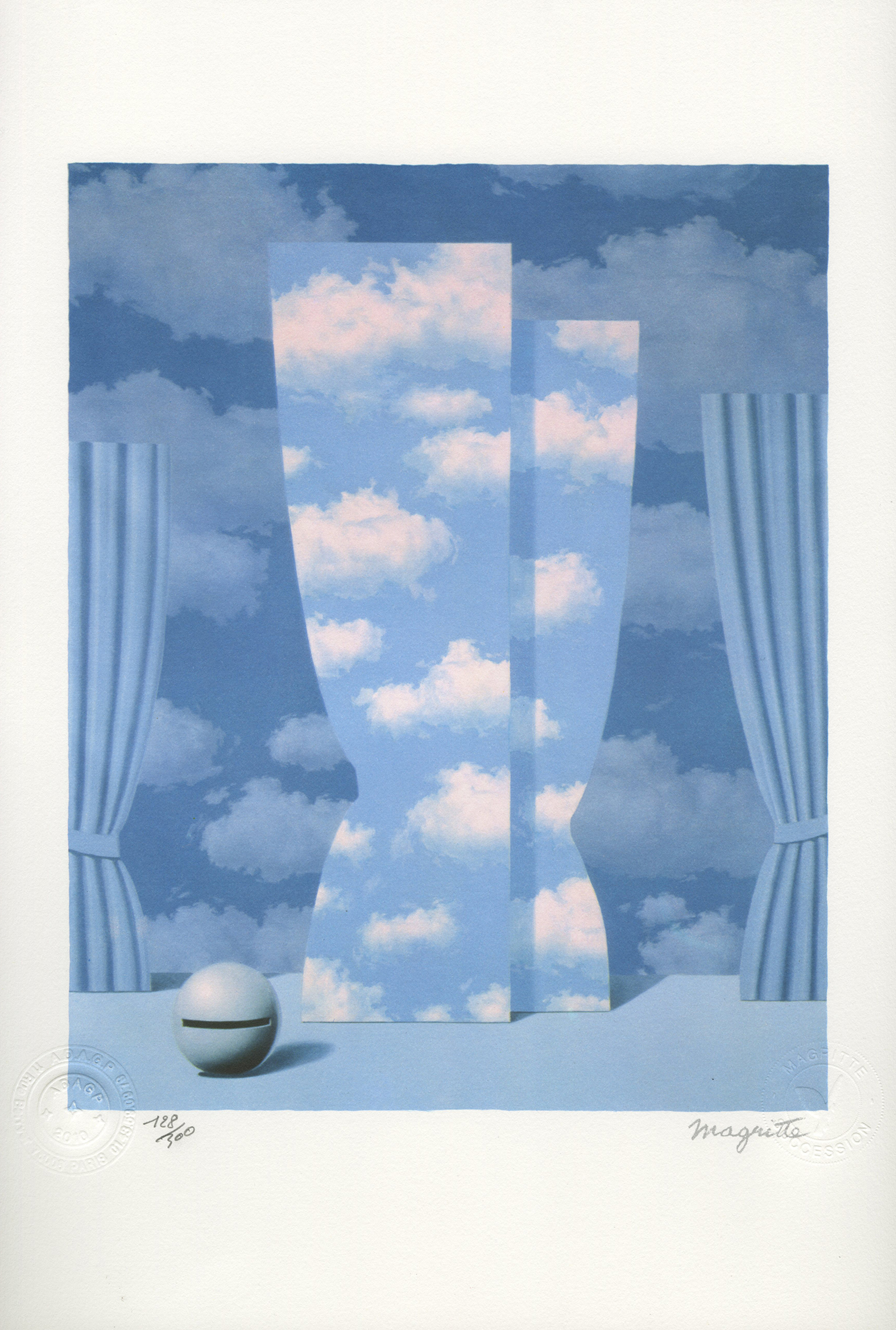 La Peine perdue (The Wasted Effort) by Rene Magritte