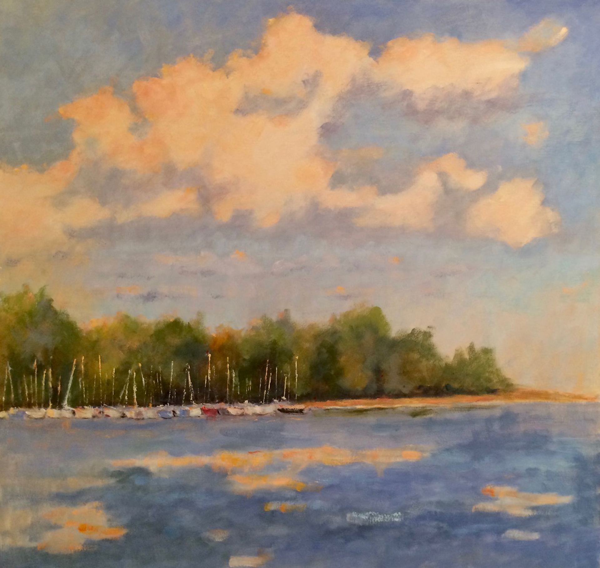 Late September Afternoon by Sharon Schwenk