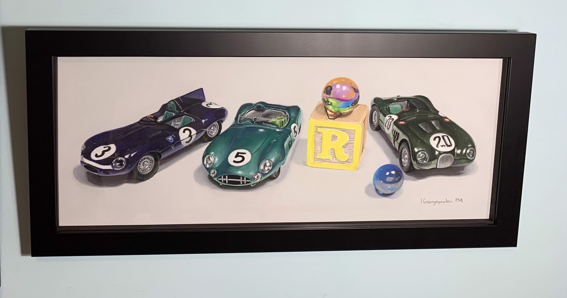 R is for Race by Irene Georgopoulou