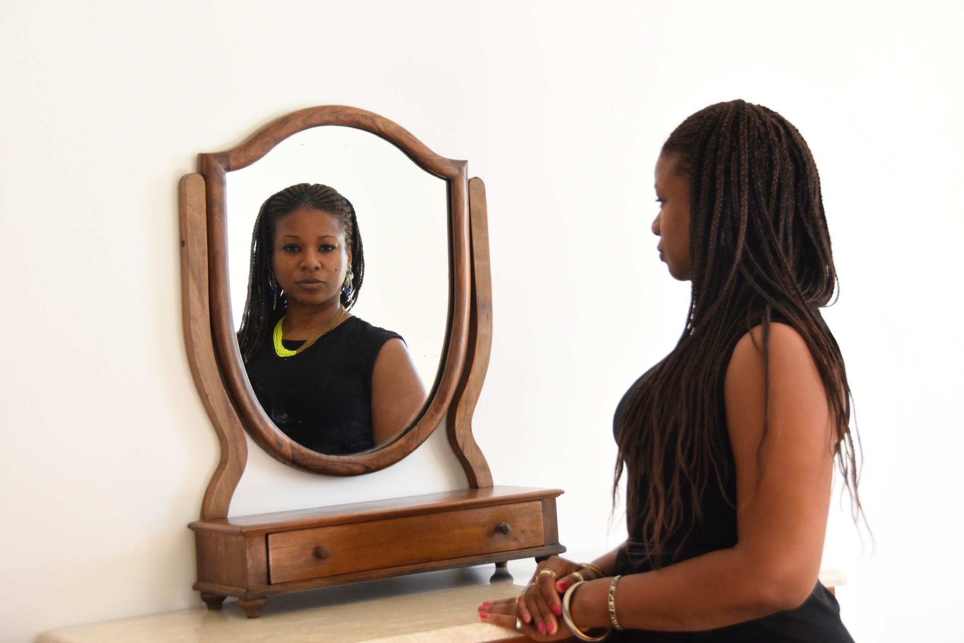 Mirror Work Whiteness Juxtaposed by Amber Robles-Gordon