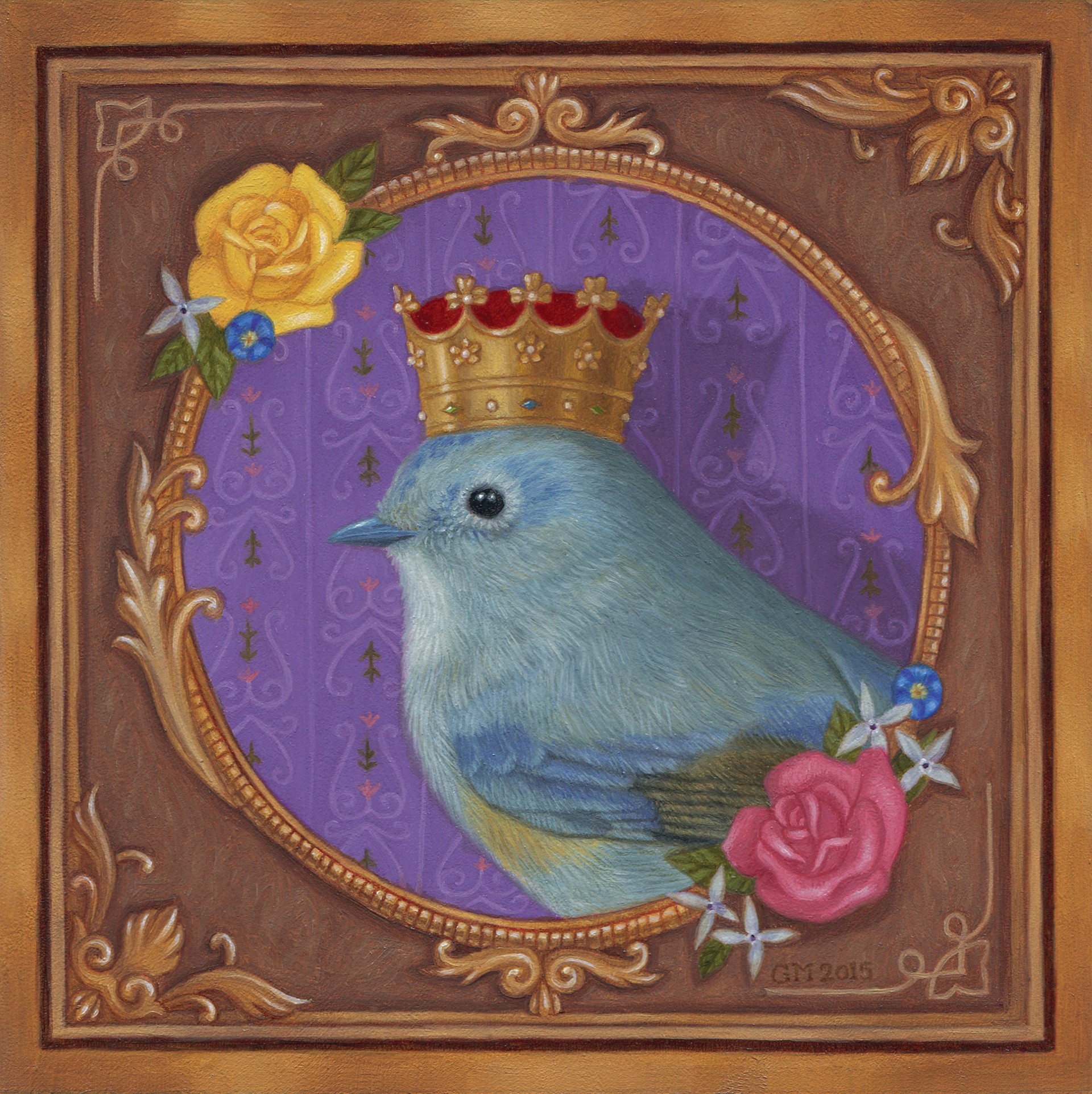 Queen Birdy by Gina Matarazzo