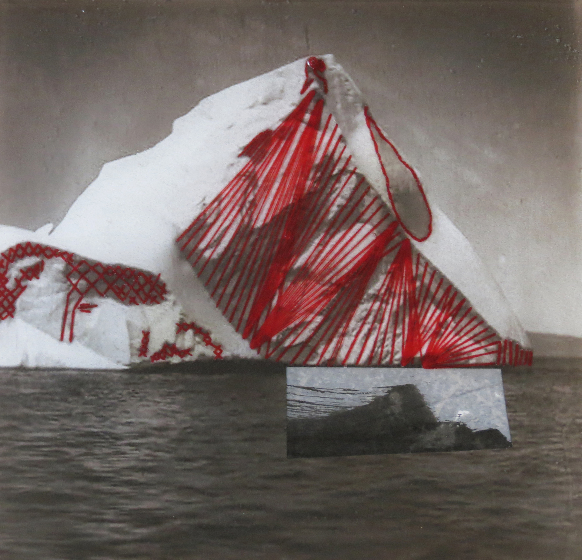 Red Iceberg by Nicole Hyde
