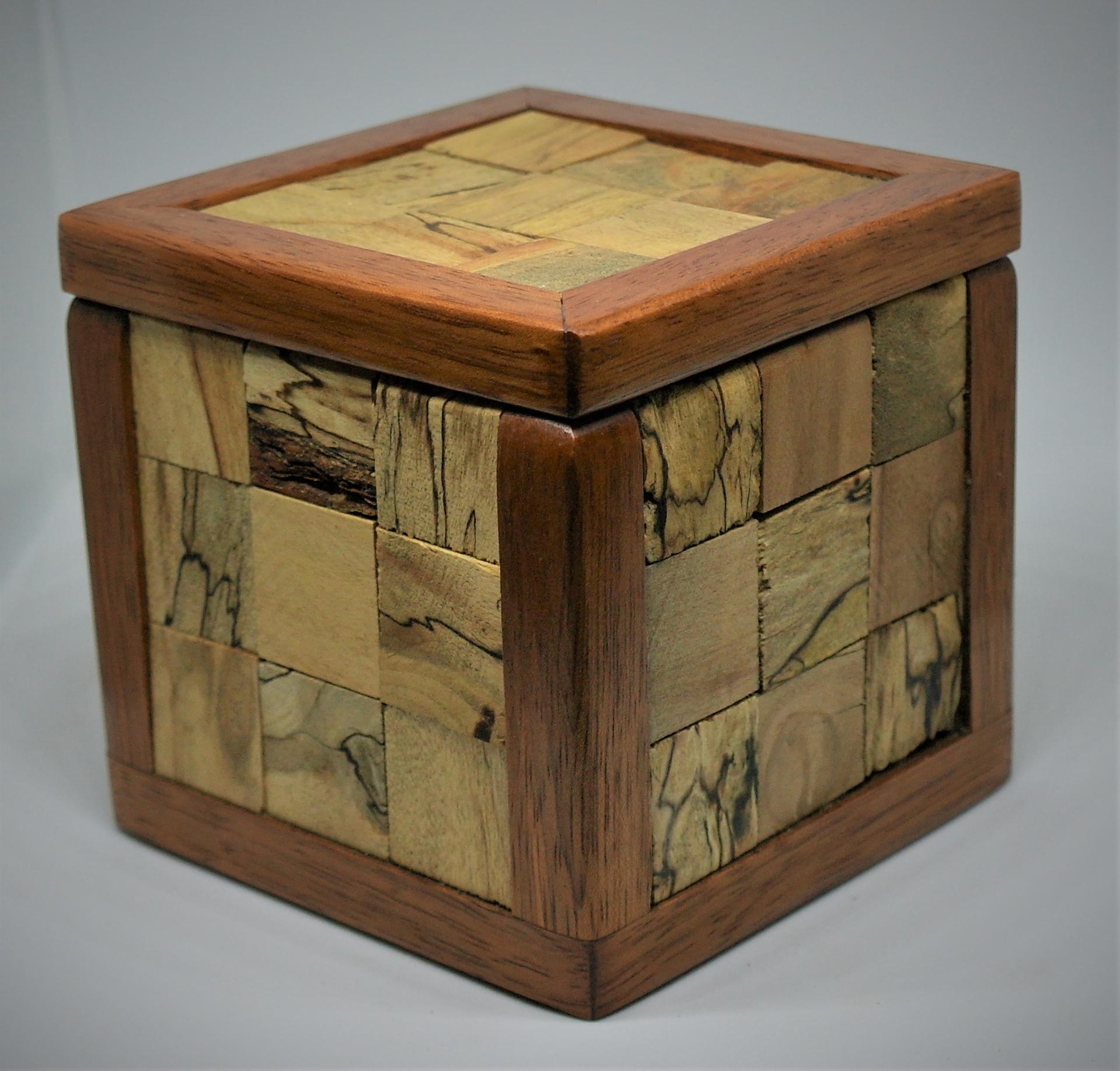 Box #23 Jatoba & Spalted Birch by Pete Rock