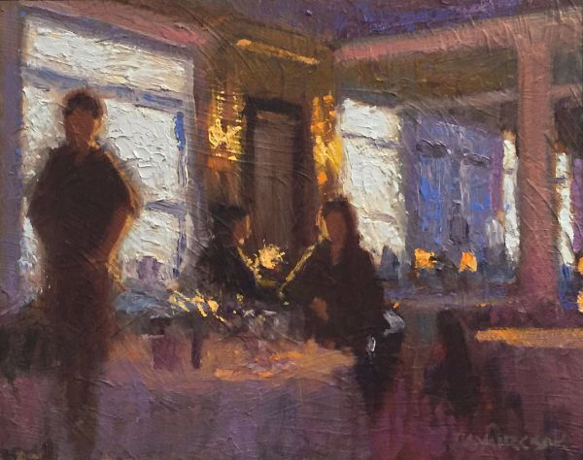 Evening Chat by Joe Gyurcsak