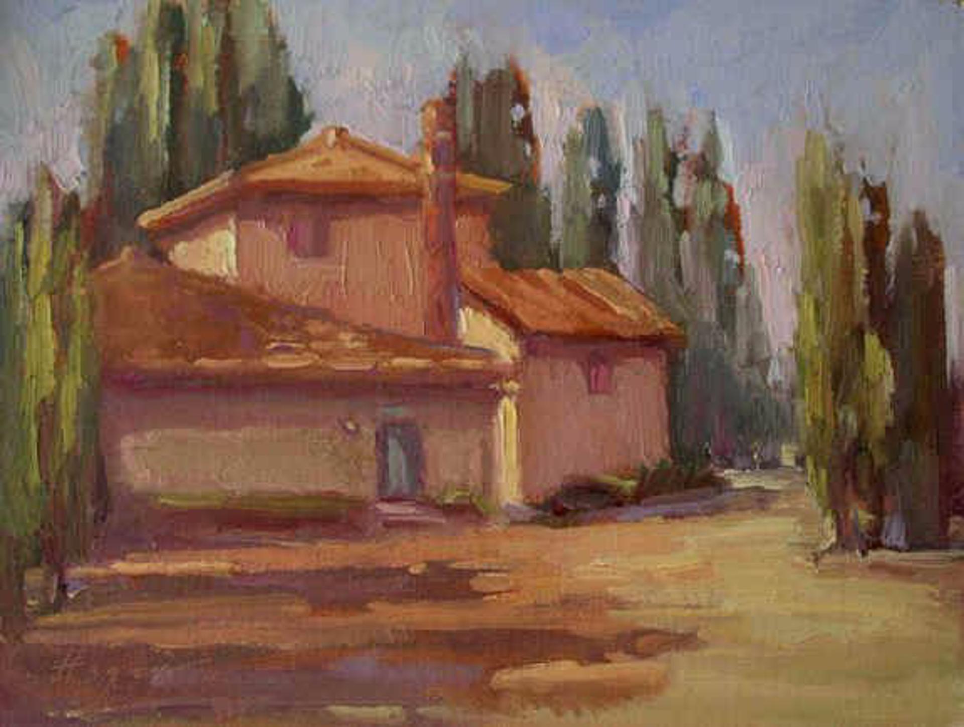 Casa Cipressai at Le Lodoline by Karen Hewitt Hagan