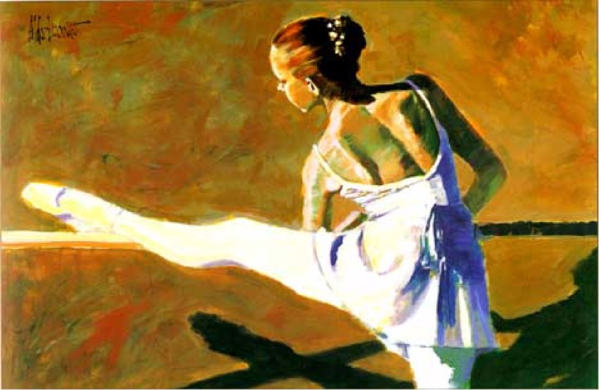 At The Barre (AP) (1 left) by Aldo Luongo