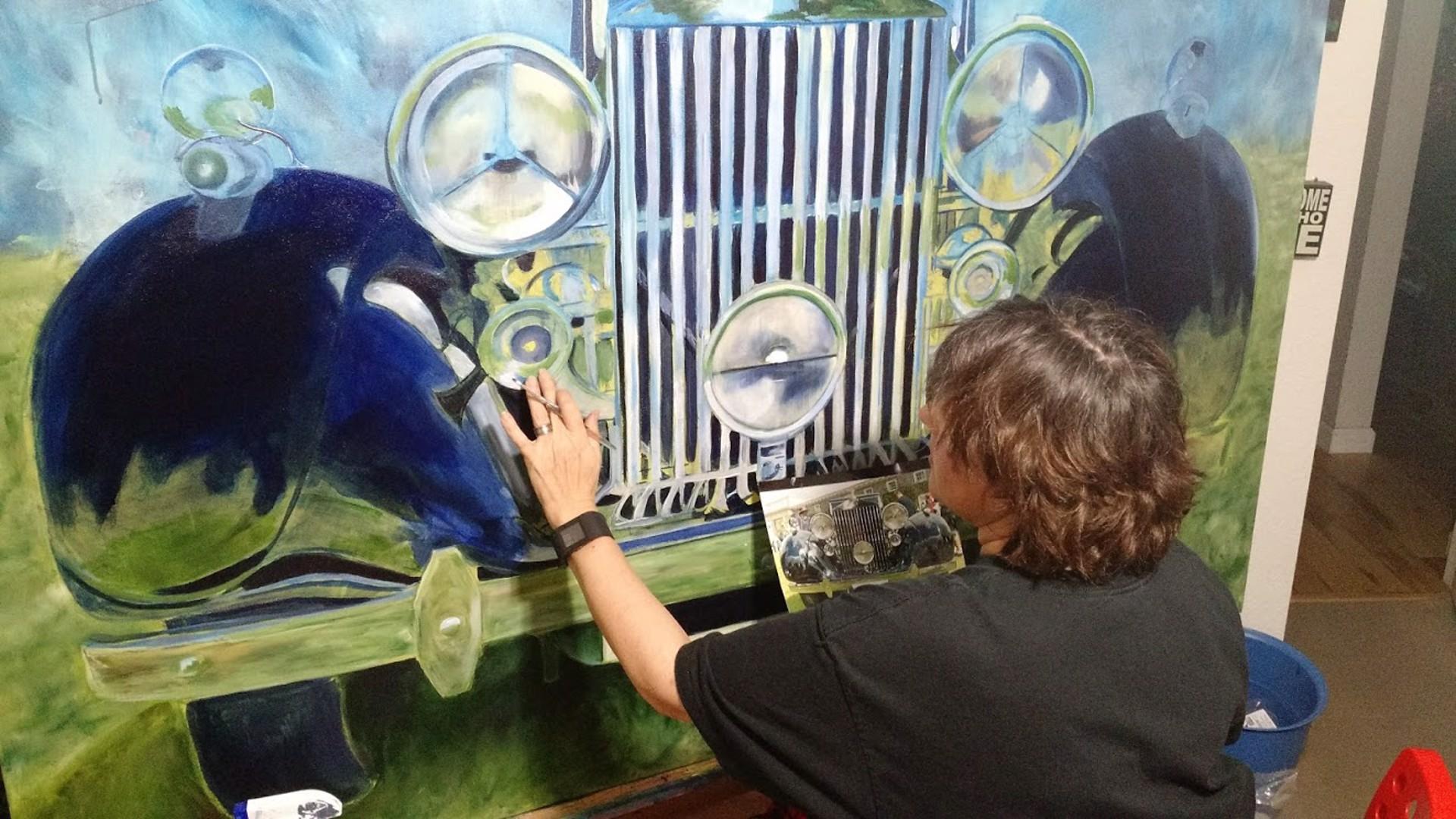 1937 Rolls Royce Phantom III Parkward Sedan cadeVille by Shan Fannin